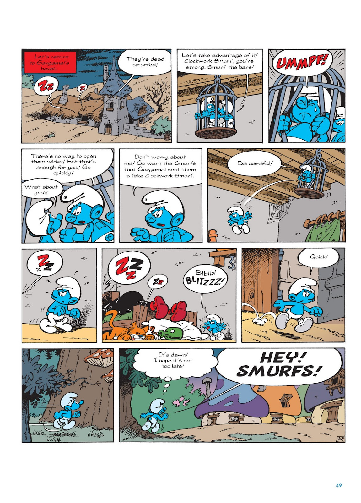 Read online The Smurfs comic -  Issue #13 - 49