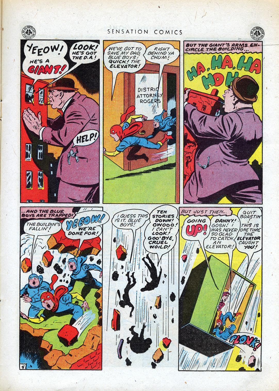 Read online Sensation (Mystery) Comics comic -  Issue #41 - 21