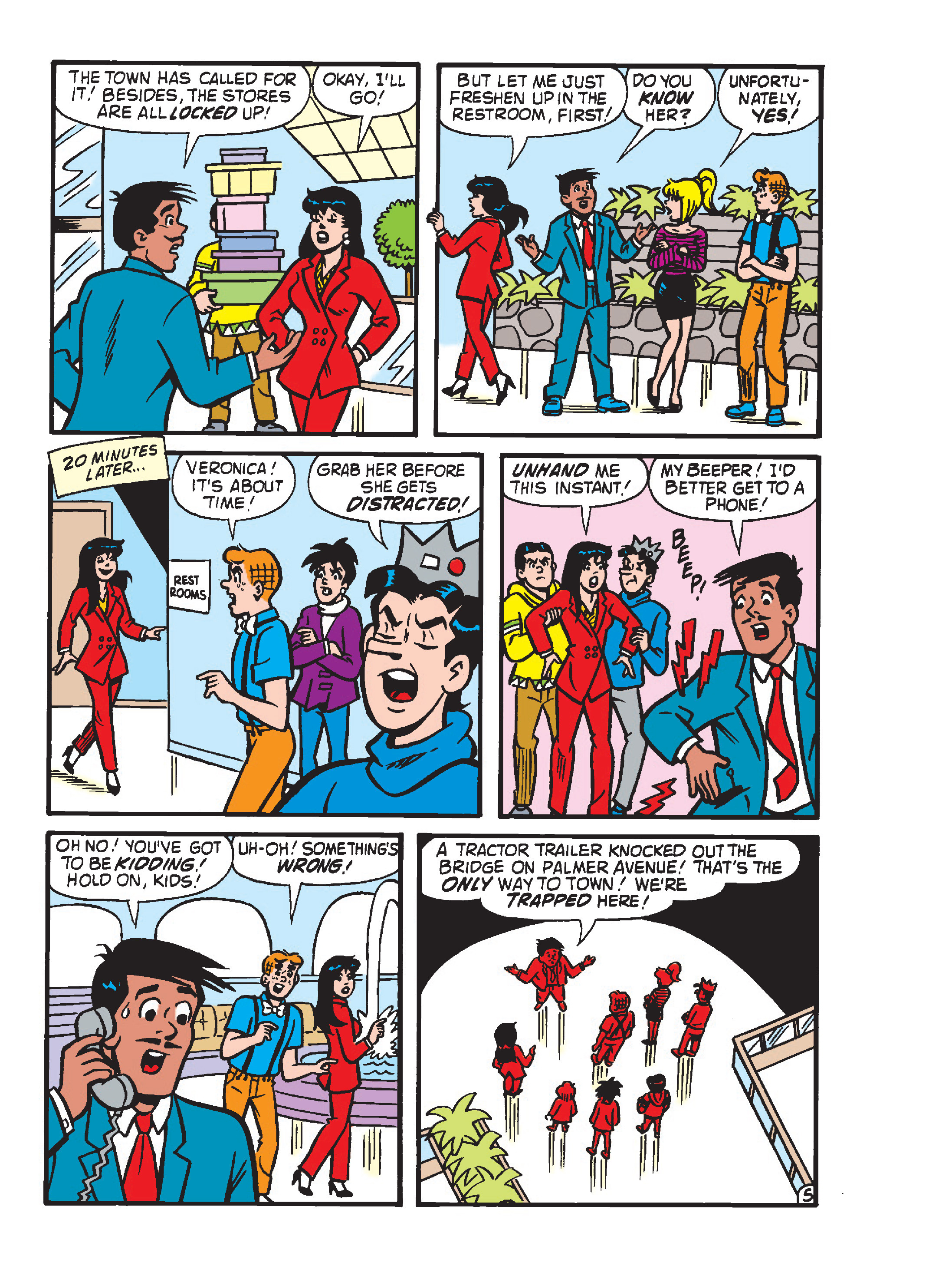 Read online Archie's Funhouse Double Digest comic -  Issue #23 - 175