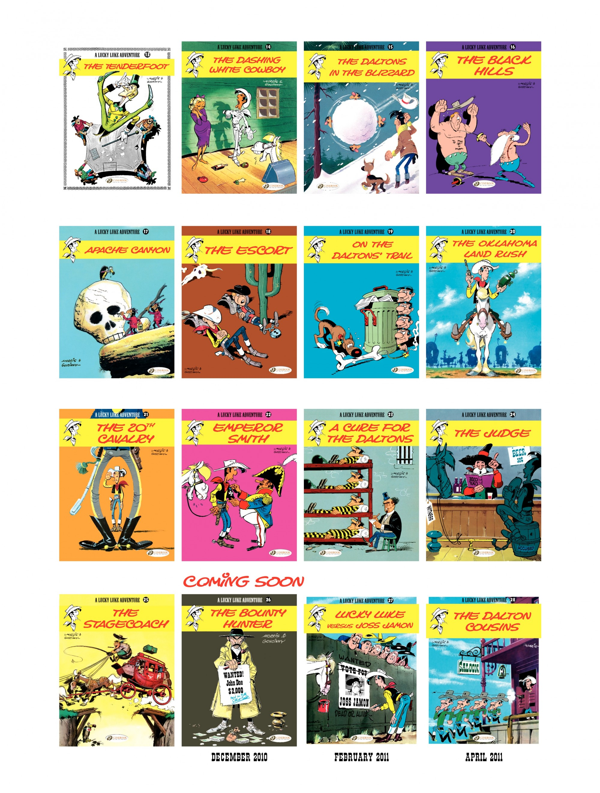 Read online A Lucky Luke Adventure comic -  Issue #25 - 48