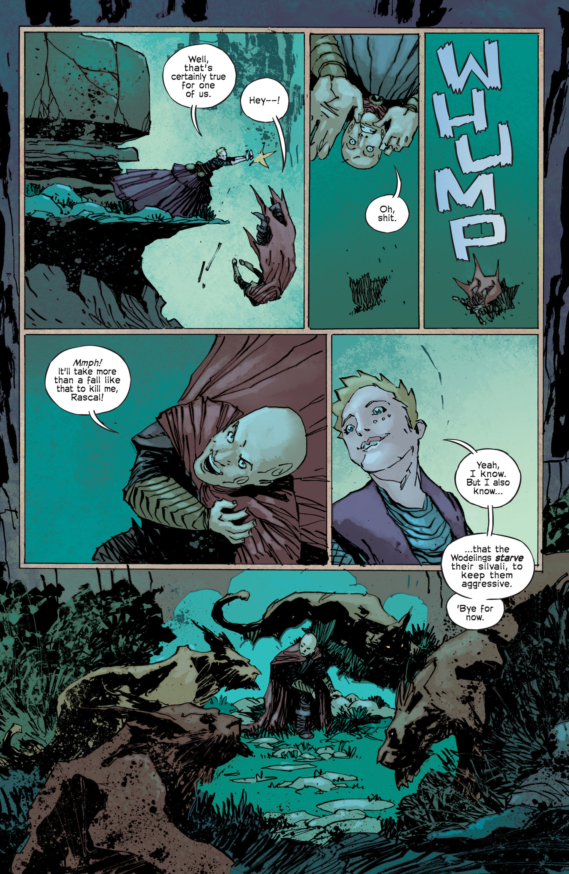 Read online Umbral comic -  Issue #12 - 14