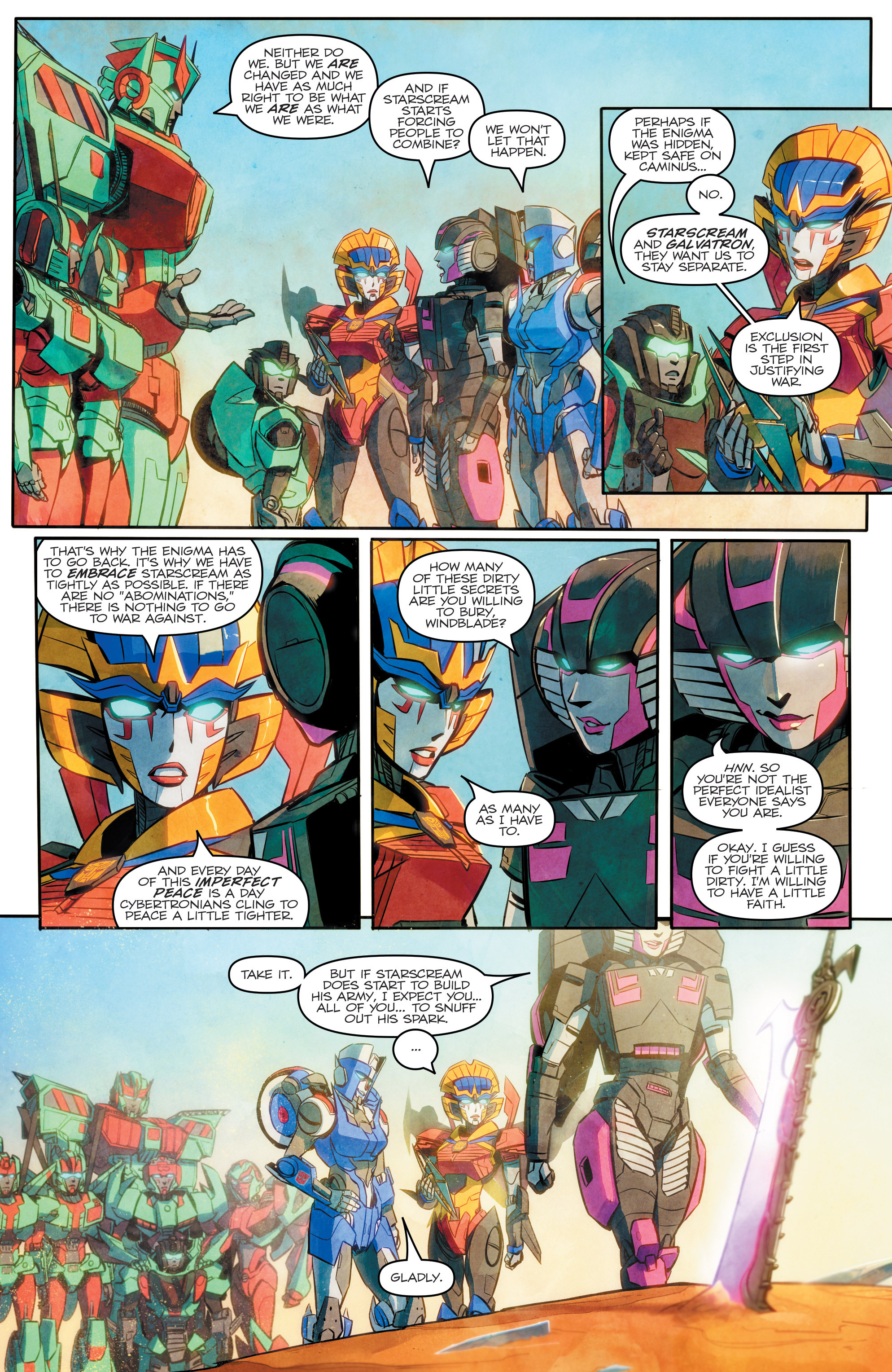 Read online Transformers: Combiner Hunters comic -  Issue # Full - 23