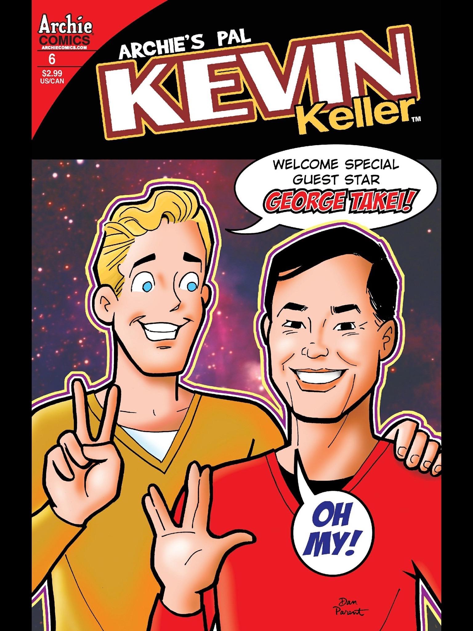 Read online Kevin Keller comic -  Issue #6 - 1