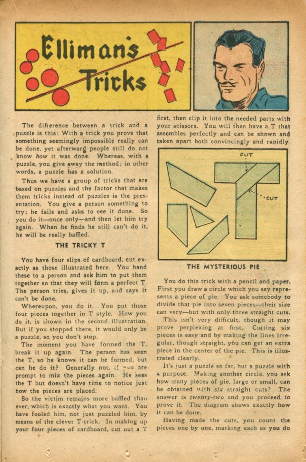 Read online Super-Magician Comics comic -  Issue #51 - 23