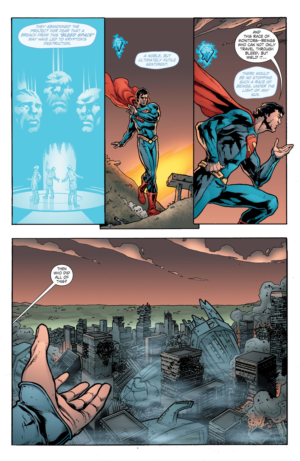 Read online Smallville Season 11 [II] comic -  Issue # TPB 8 - 114