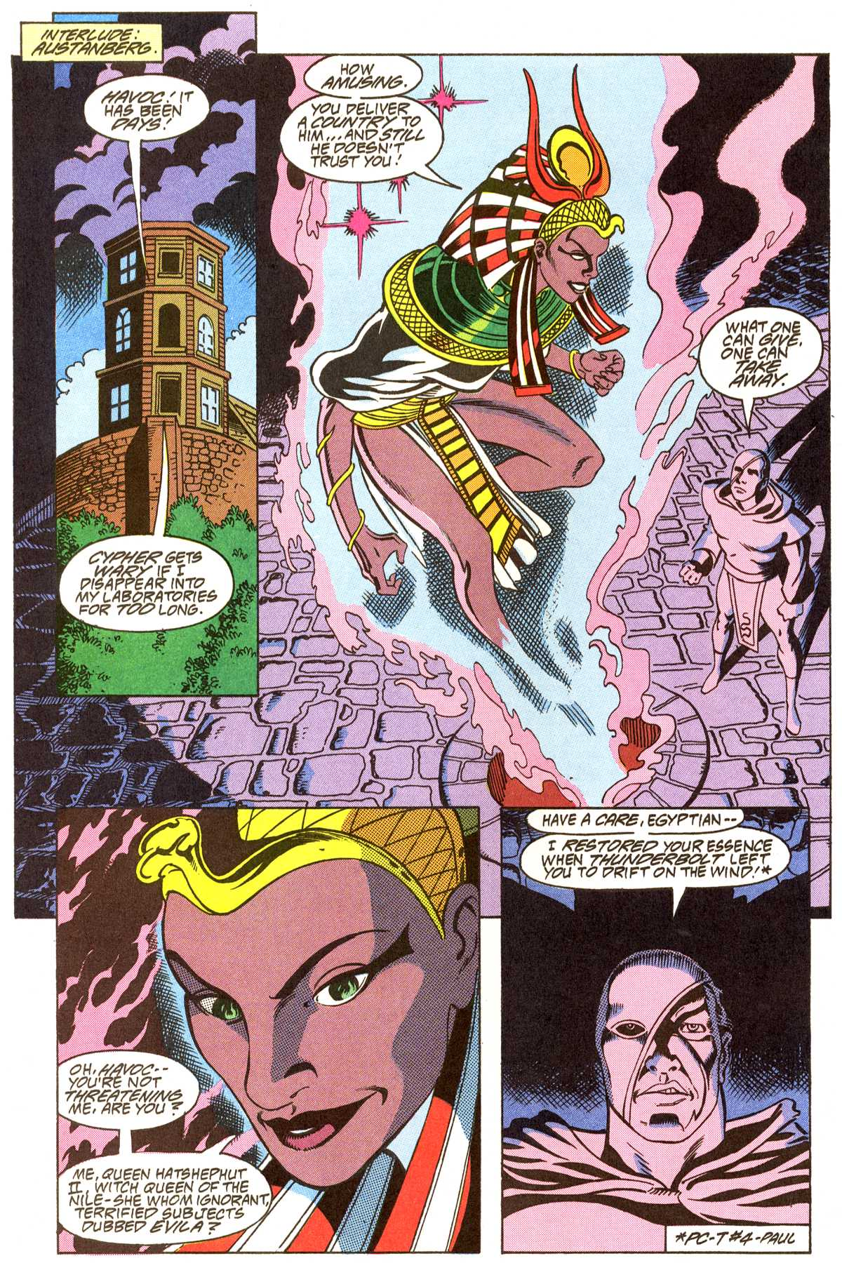 Read online Peter Cannon--Thunderbolt (1992) comic -  Issue #8 - 7