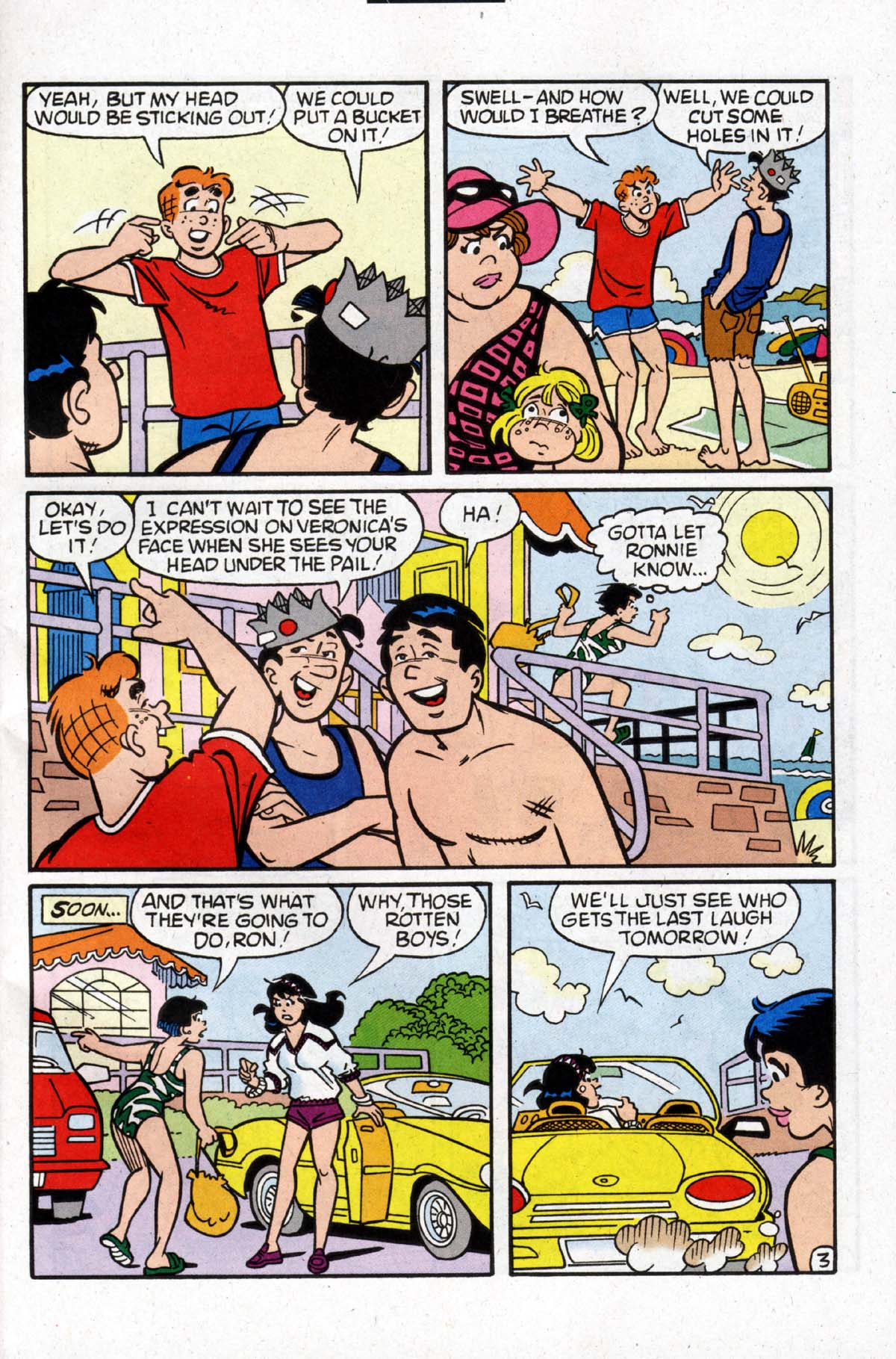 Read online Archie (1960) comic -  Issue #526 - 4