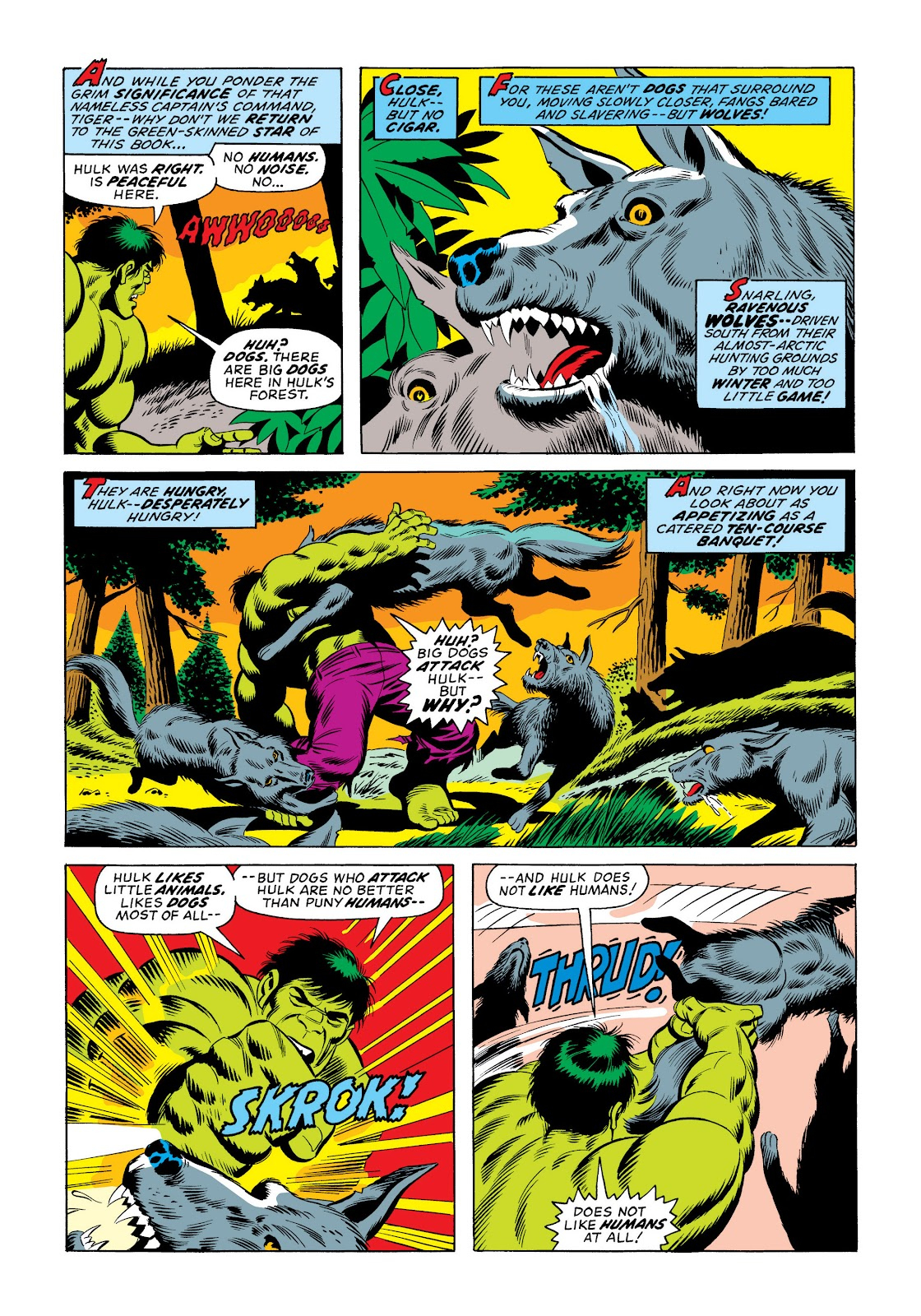 Read online Marvel Masterworks: The Incredible Hulk comic -  Issue # TPB 10 (Part 2) - 89