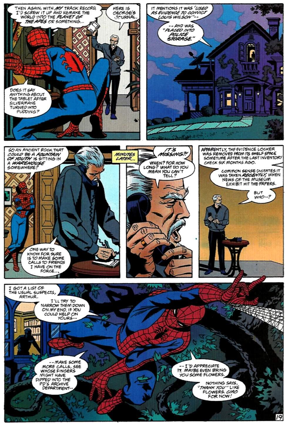 Read online Spider-Man: Lifeline comic -  Issue #1 - 20