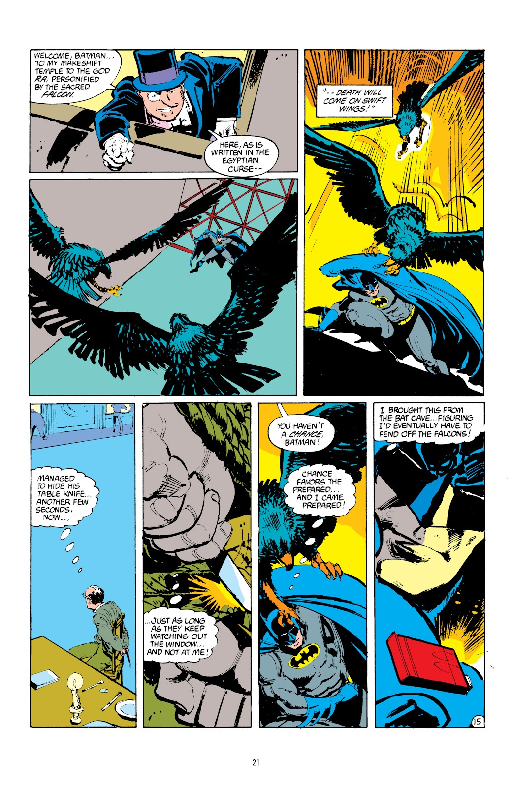 Read online Detective Comics (1937) comic -  Issue # _TPB Batman - The Dark Knight Detective 1 (Part 1) - 21
