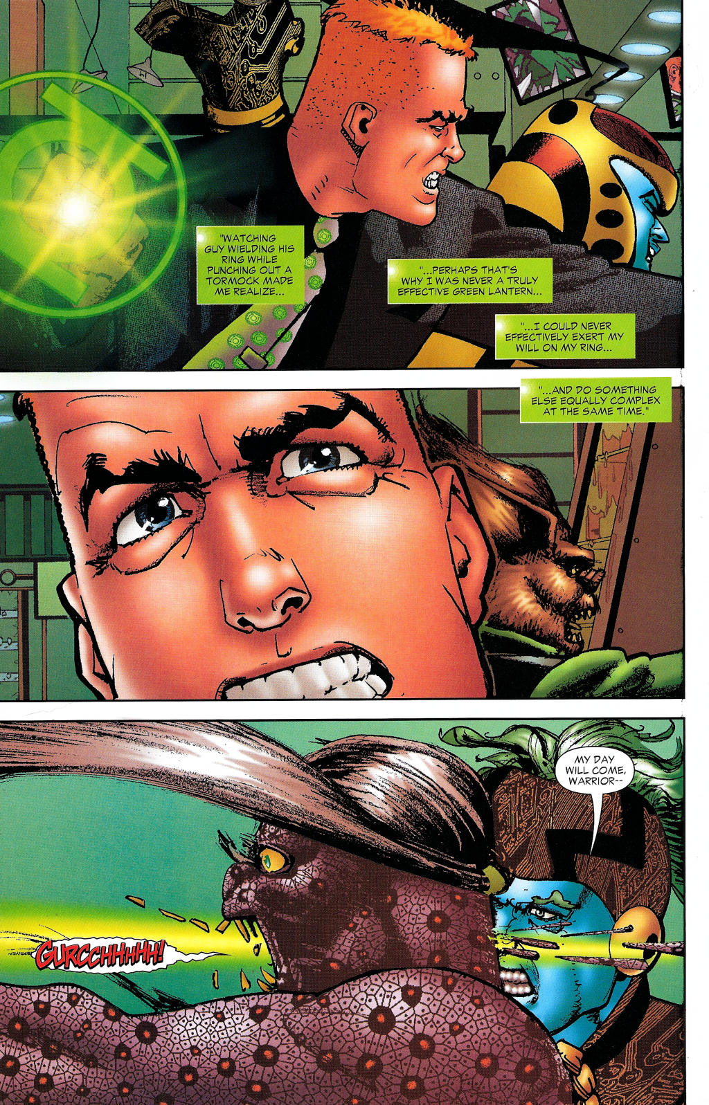 Read online Guy Gardner: Collateral Damage comic -  Issue #1 - 42