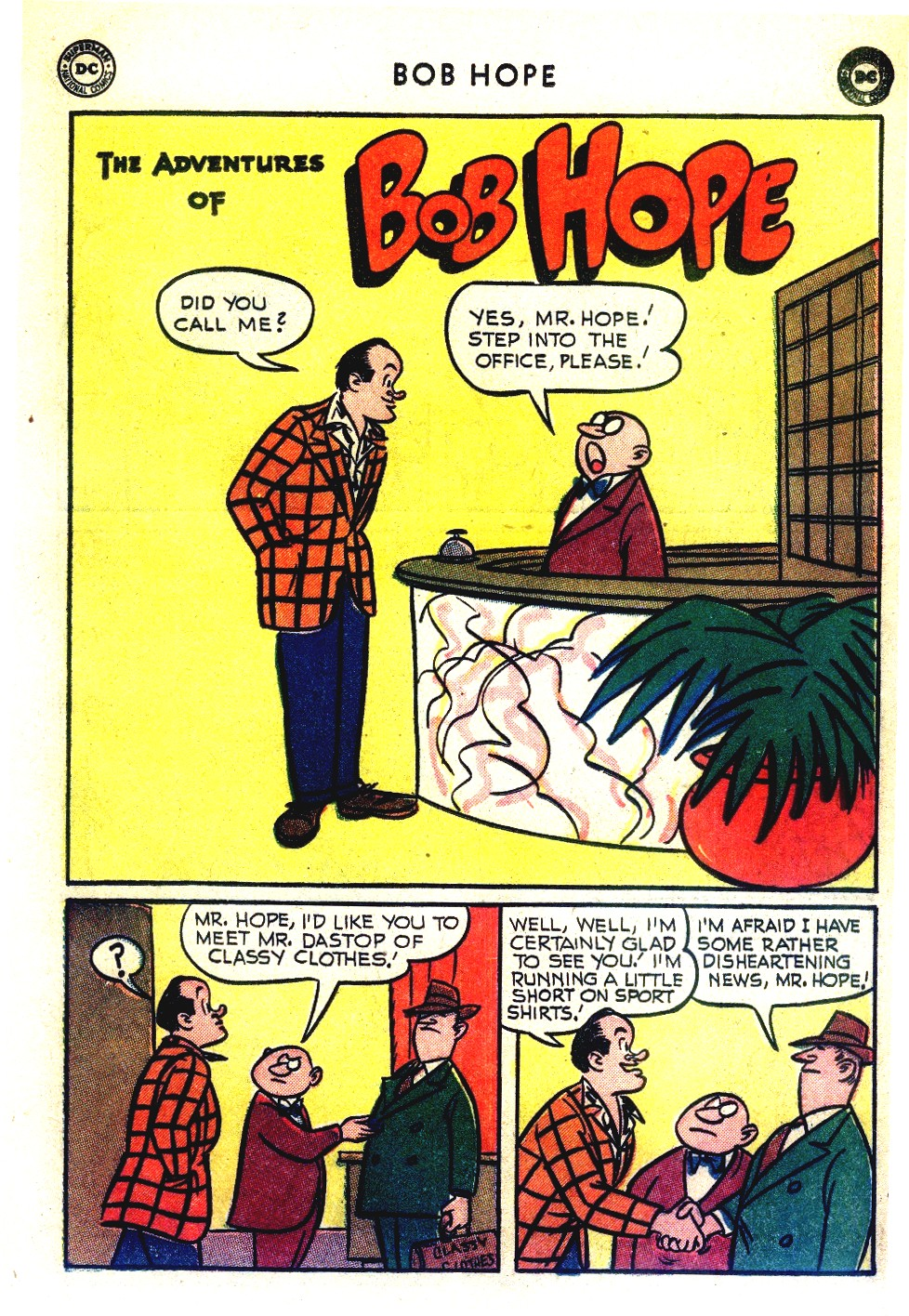 The Adventures of Bob Hope issue 27 - Page 25