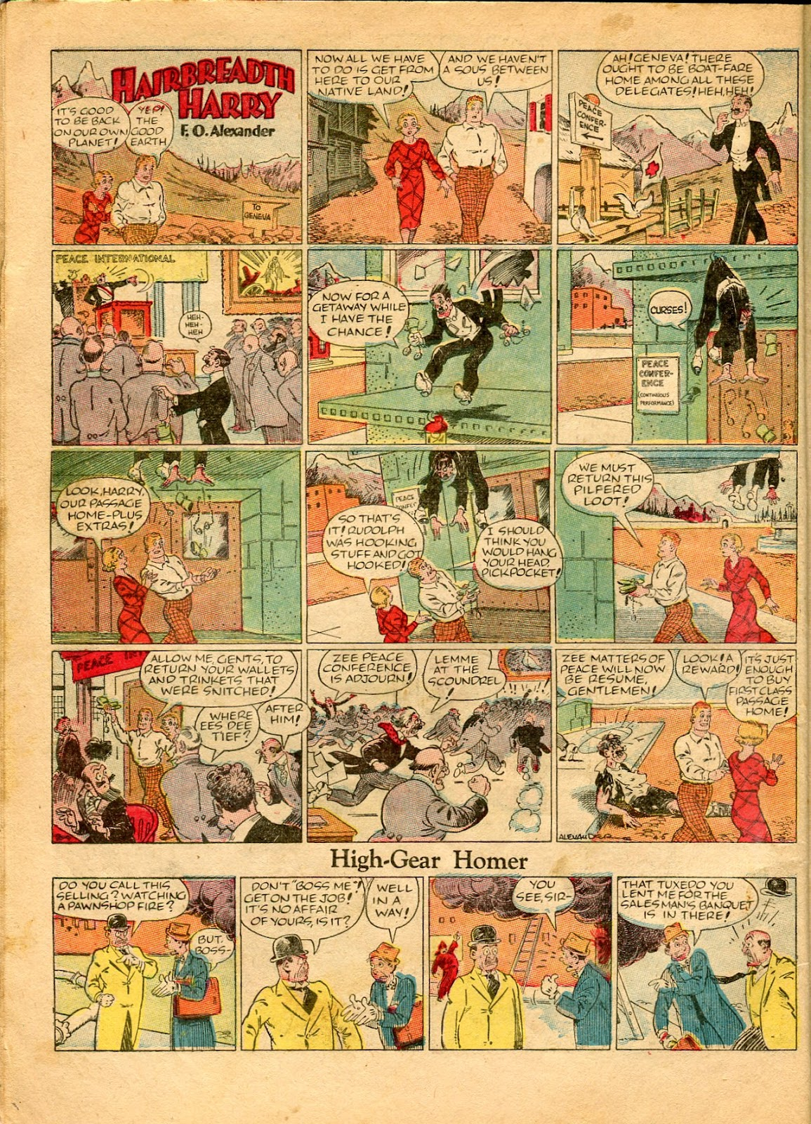 Read online Famous Funnies comic -  Issue #49 - 16