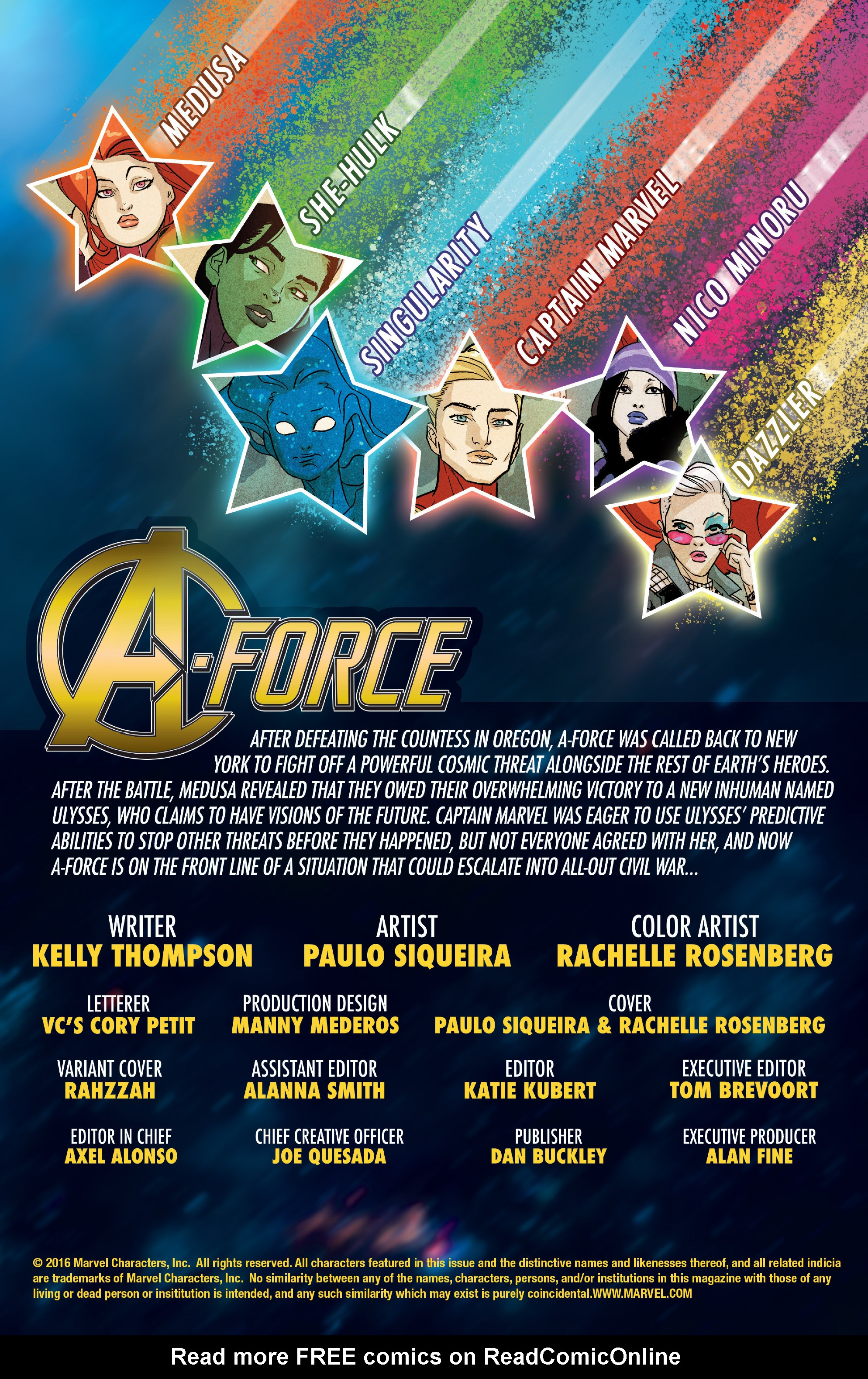 Read online A-Force (2016) comic -  Issue #8 - 2