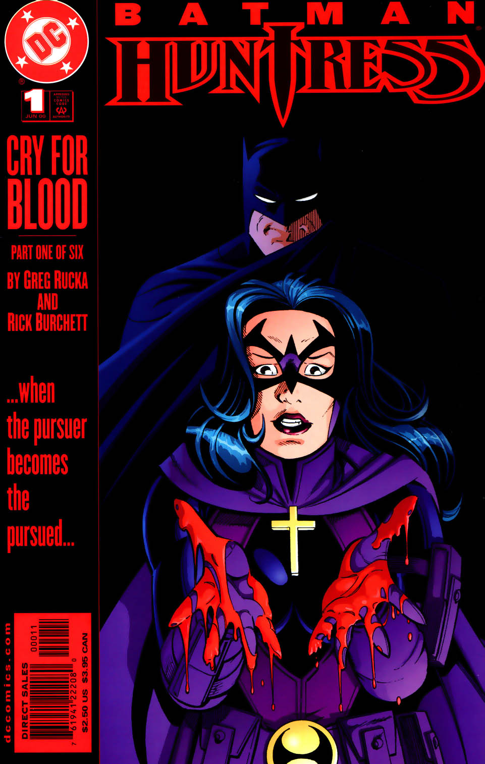Batman/Huntress: Cry for Blood 1 Page 1