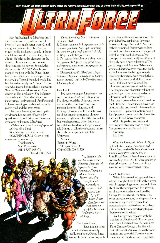 Read online UltraForce (1994) comic -  Issue #5 - 26