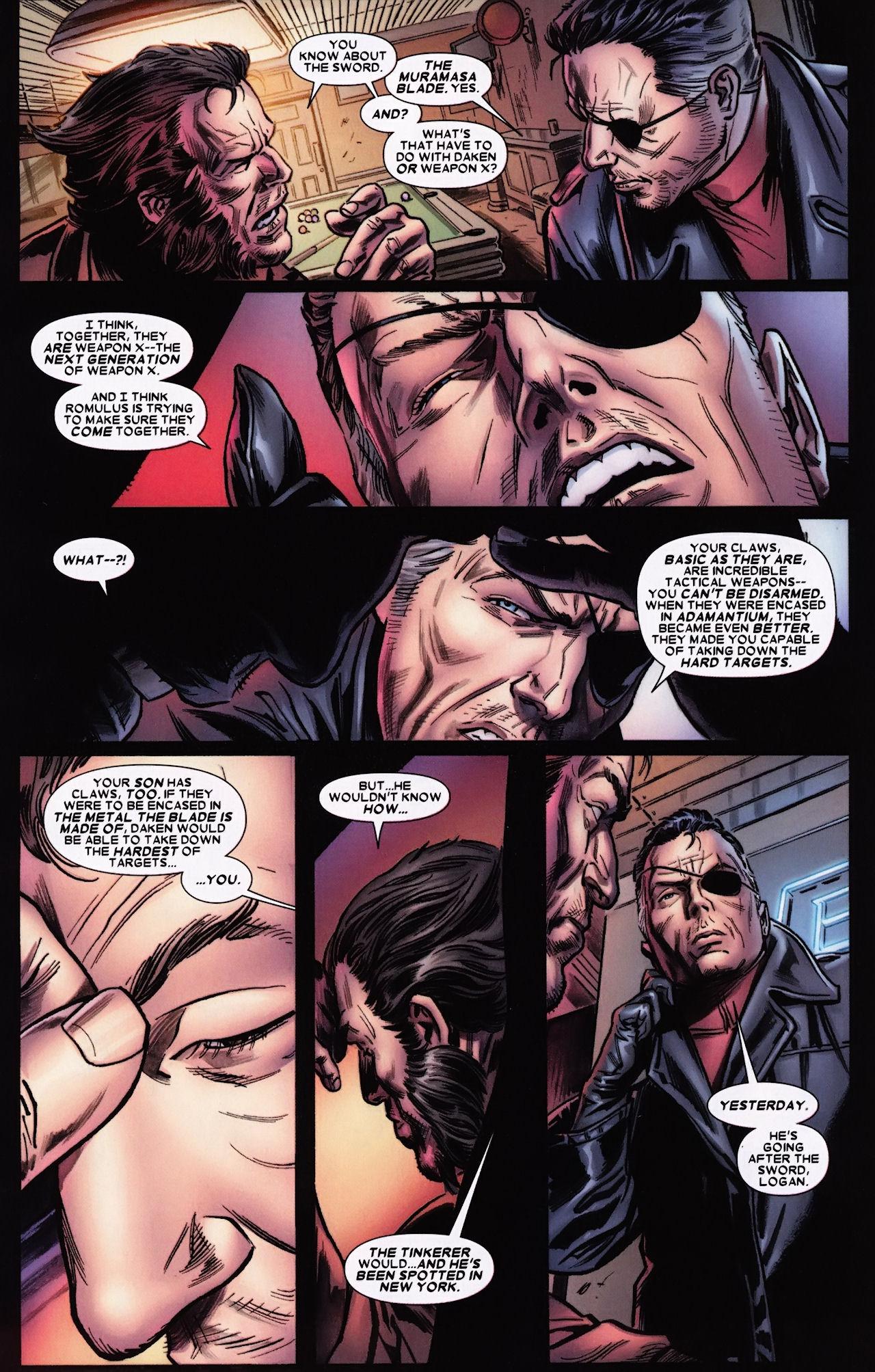 Read online Wolverine: Origins comic -  Issue #33 - 20