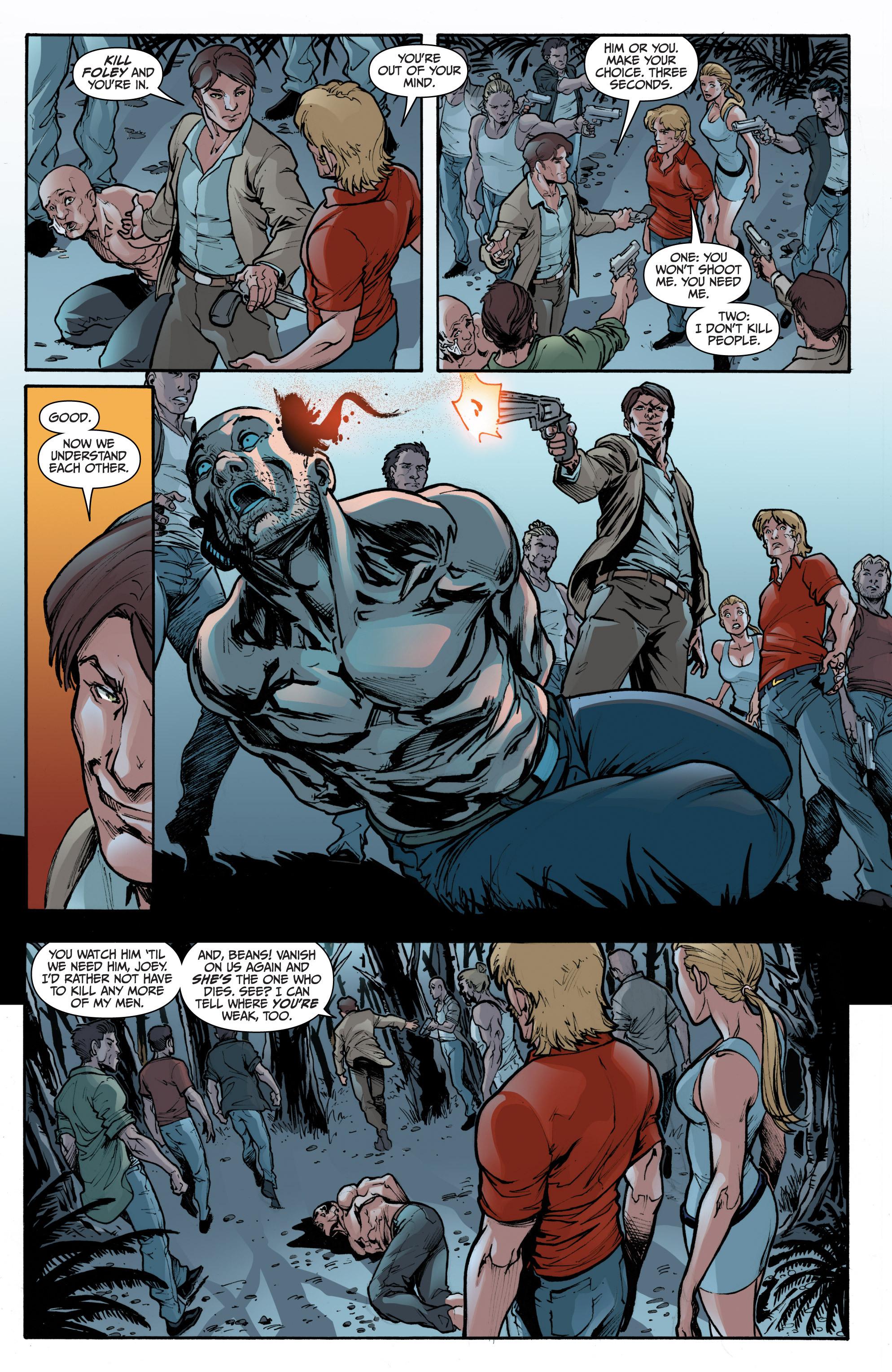 Read online 3 Guns comic -  Issue #1 - 20