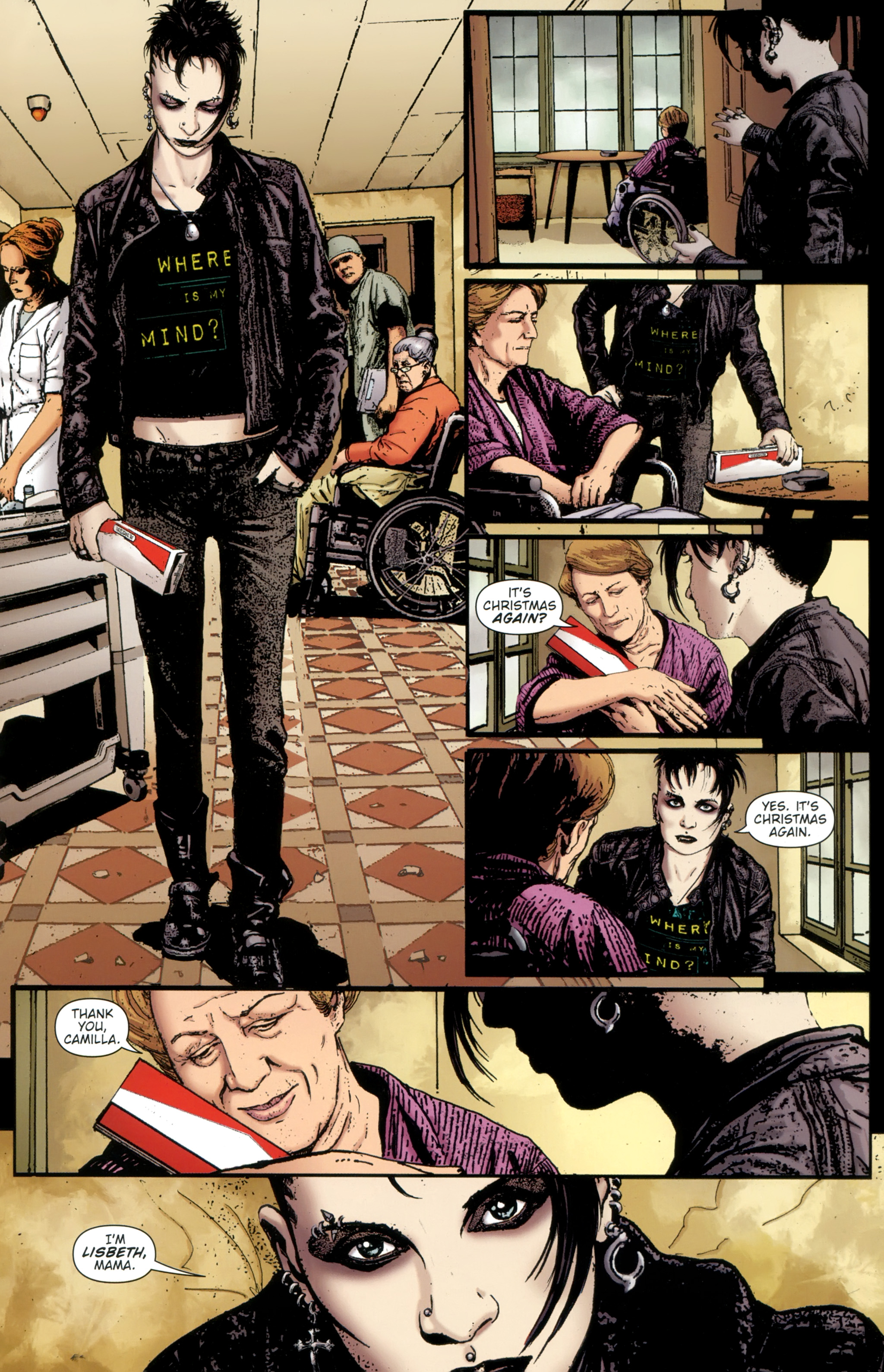 Read online The Girl With the Dragon Tattoo comic -  Issue # TPB 1 - 32