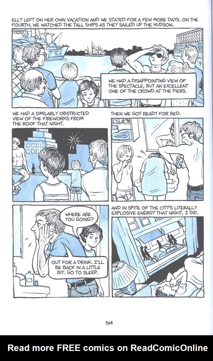 Read online Fun Home: A Family Tragicomic comic -  Issue # TPB - 200