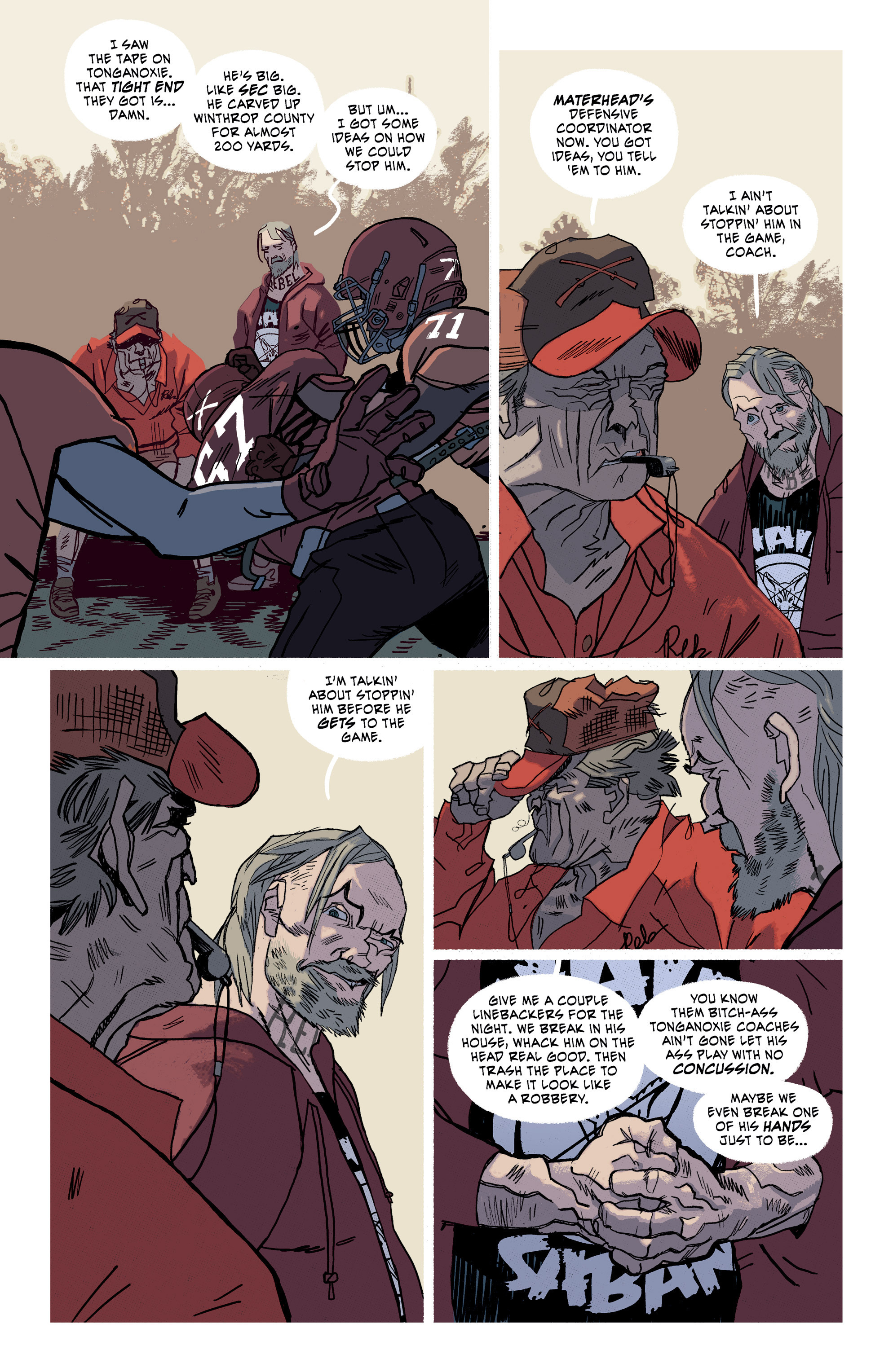 Read online Southern Bastards comic -  Issue #15 - 8