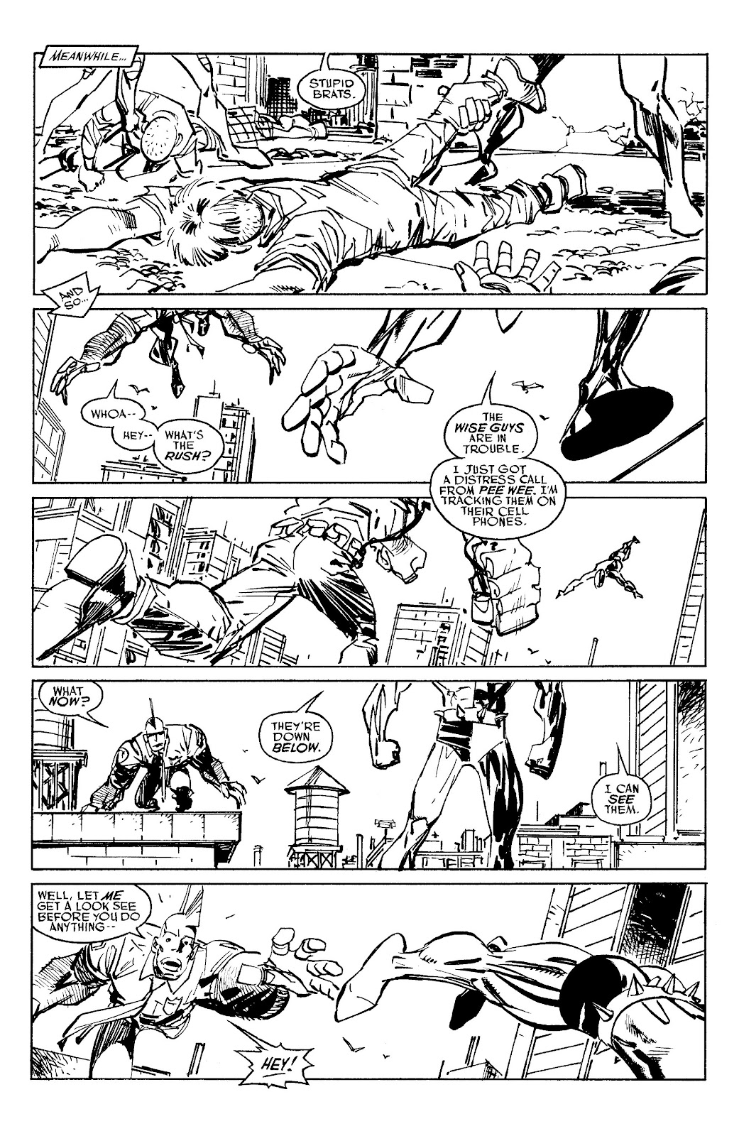 Read online Savage Dragon Archives comic -  Issue # TPB 6 (Part 5) - 44