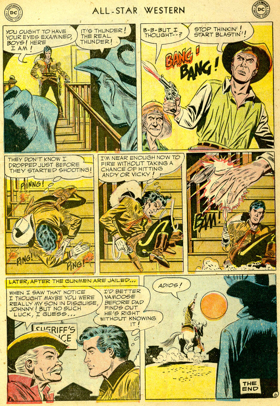 Read online All-Star Western (1951) comic -  Issue #68 - 33