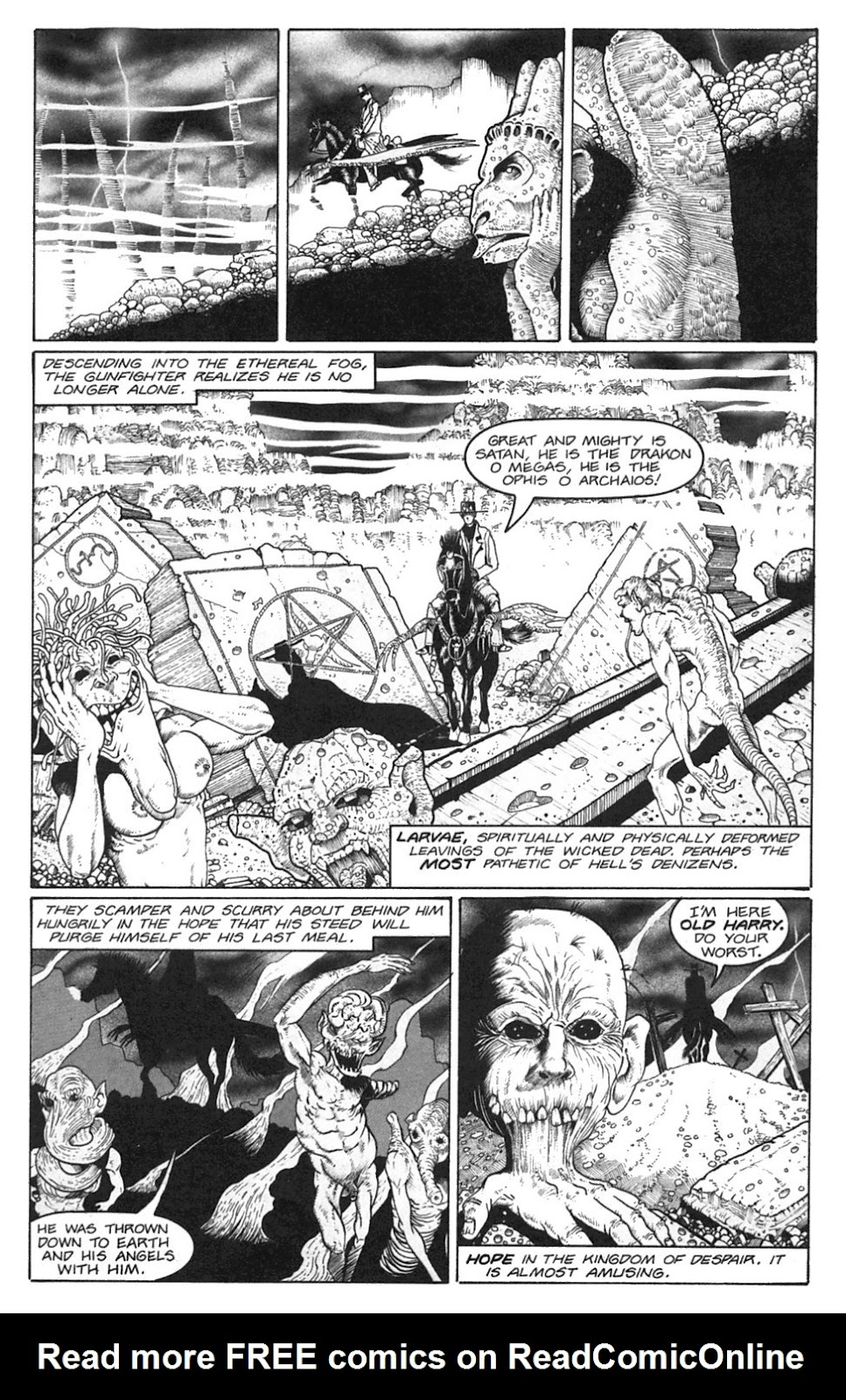Read online Gunfighters in Hell comic -  Issue #3 - 11
