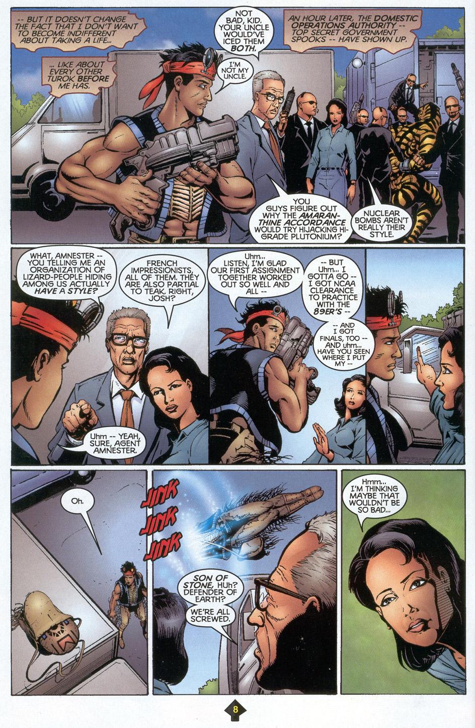 Read online Turok: Redpath comic -  Issue # Full - 7