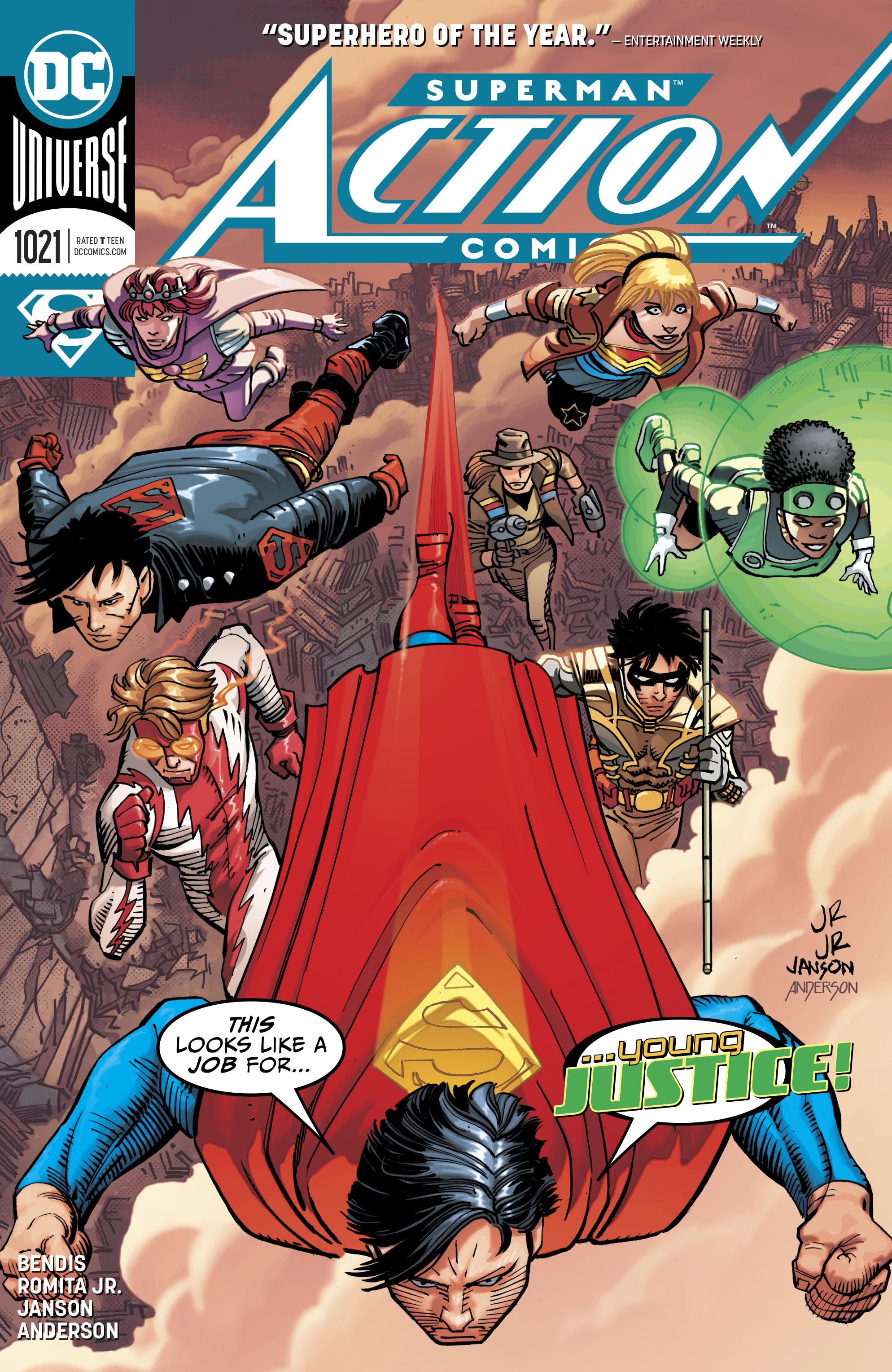 Action Comics (2016) 1021 Page 1
