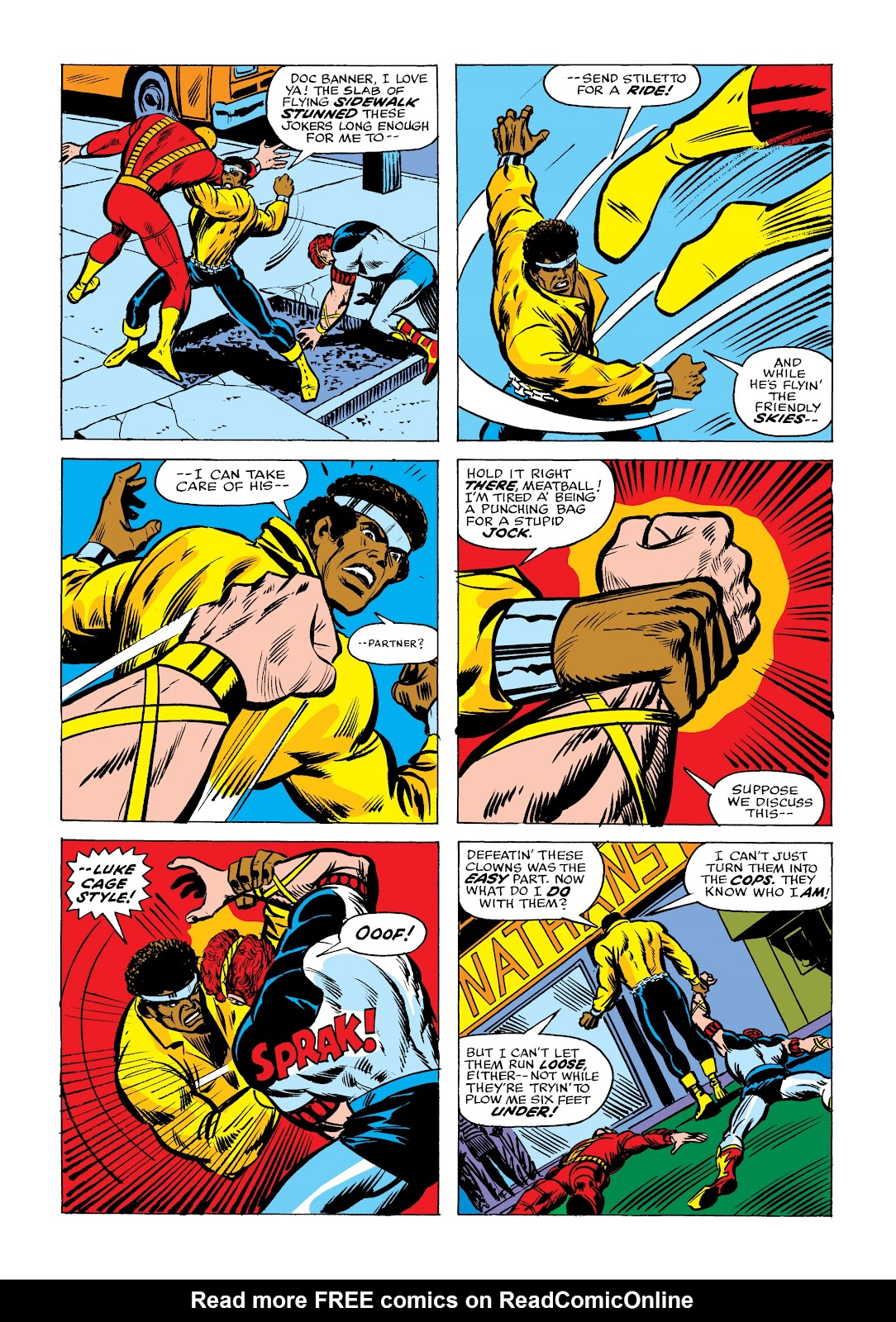 Read online Marvel Masterworks: Luke Cage, Power Man comic -  Issue # TPB 2 (Part 2) - 19