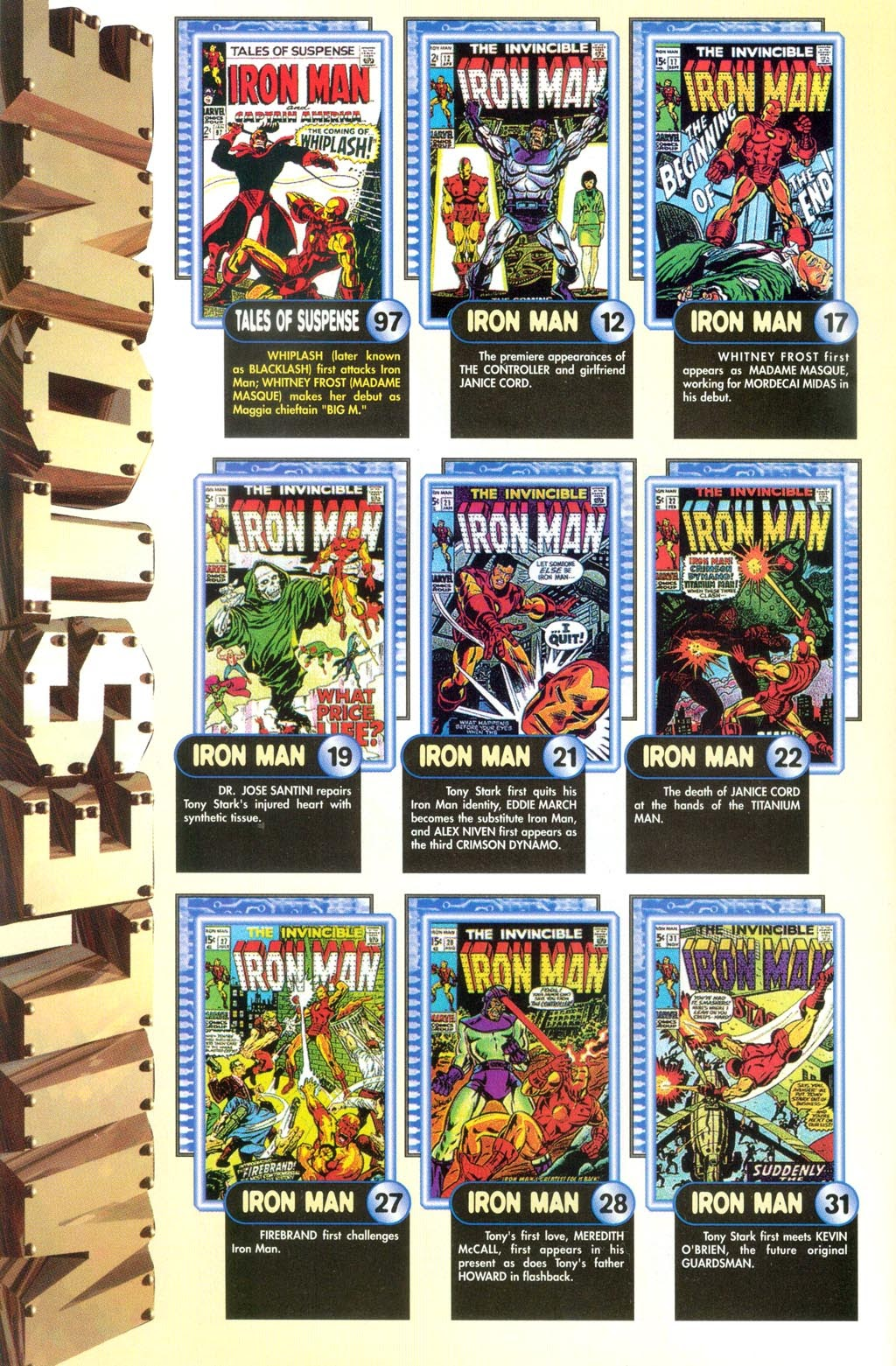 Read online Iron Man: The Legend comic -  Issue # Full - 8