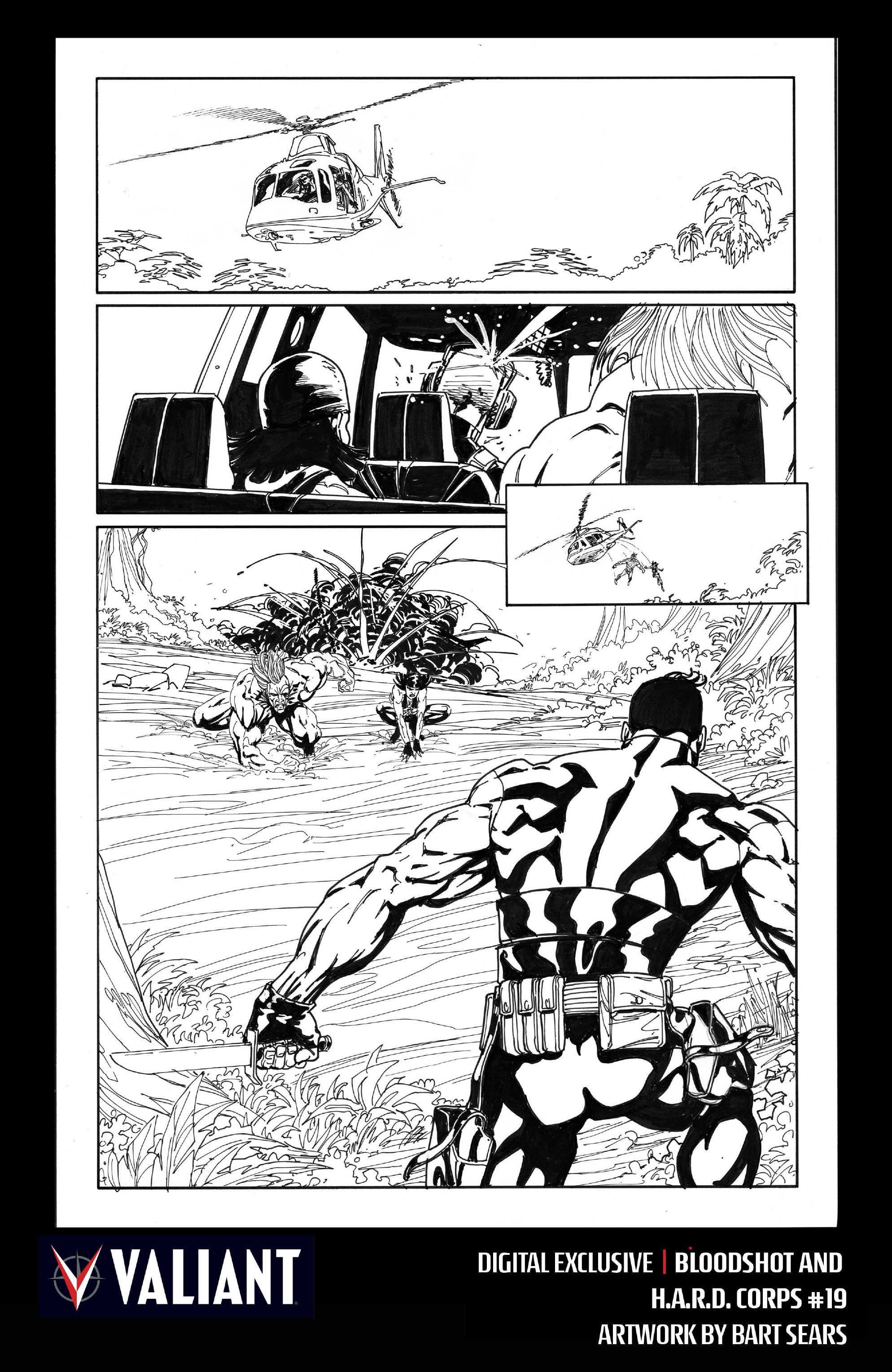 Read online Bloodshot and H.A.R.D.Corps comic -  Issue #19 - 32