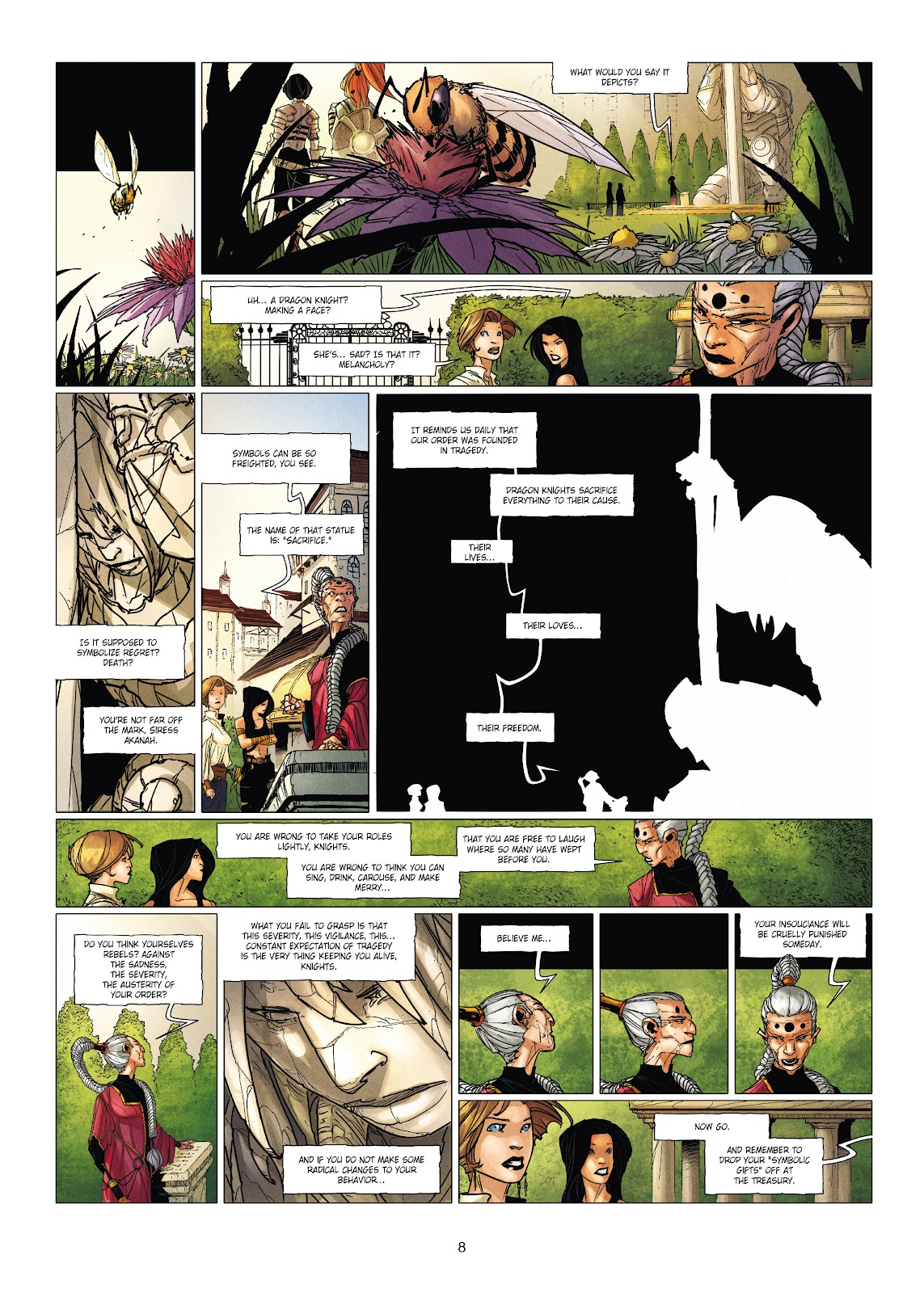 Read online Chronicles of the Dragon Knights comic -  Issue #19 - 8