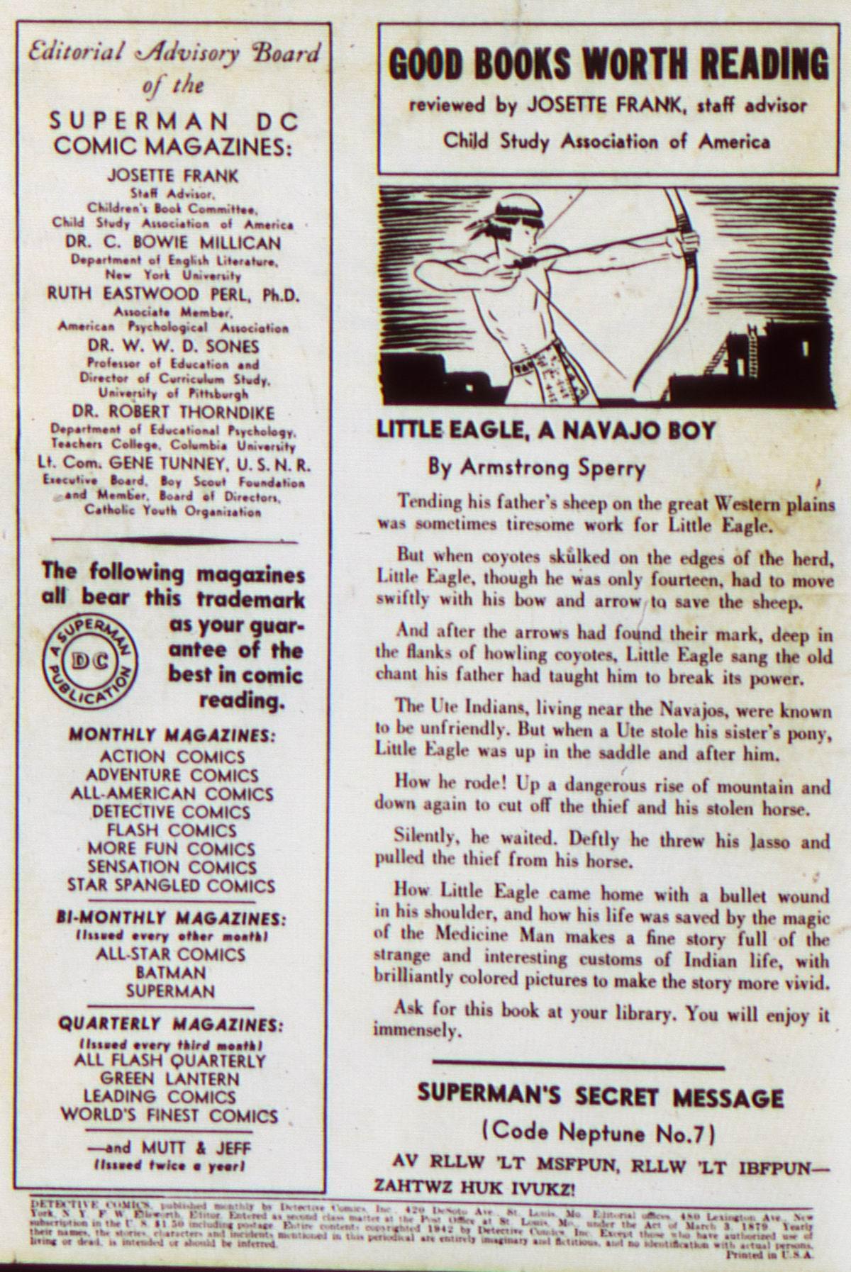 Read online Detective Comics (1937) comic -  Issue #63 - 2