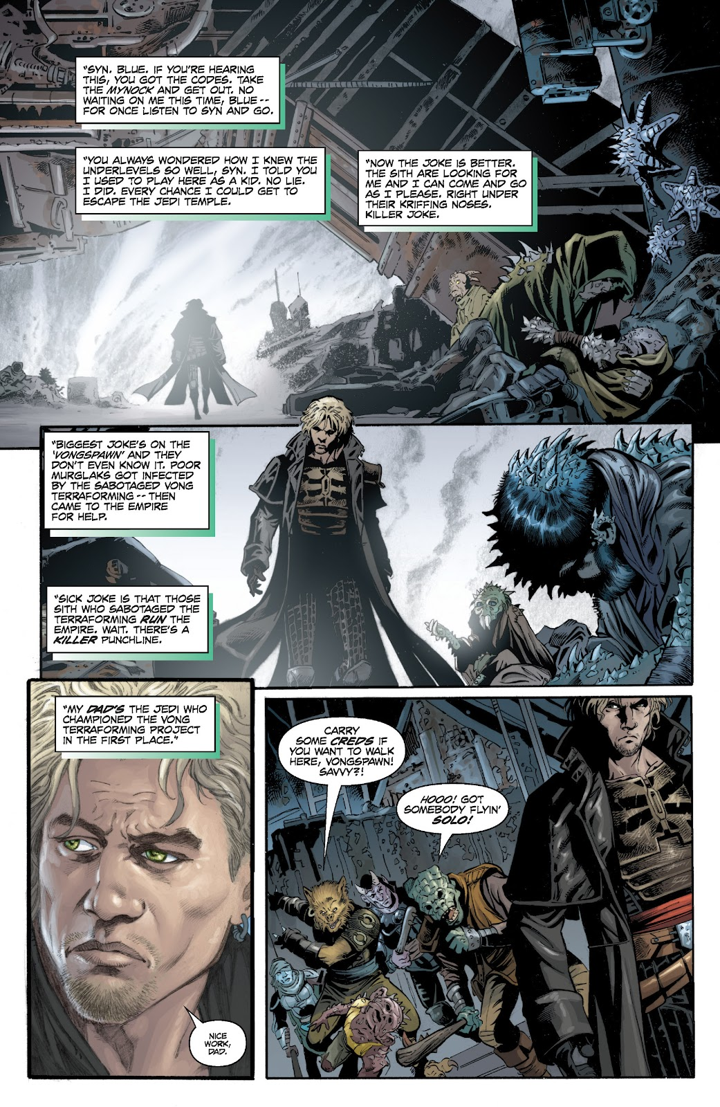 Read online Star Wars Legends: Legacy - Epic Collection comic -  Issue # TPB 1 (Part 4) - 25