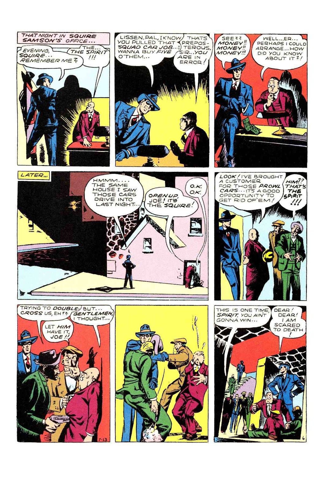 Read online Will Eisner's The Spirit Archives comic -  Issue # TPB 3 (Part 1) - 15