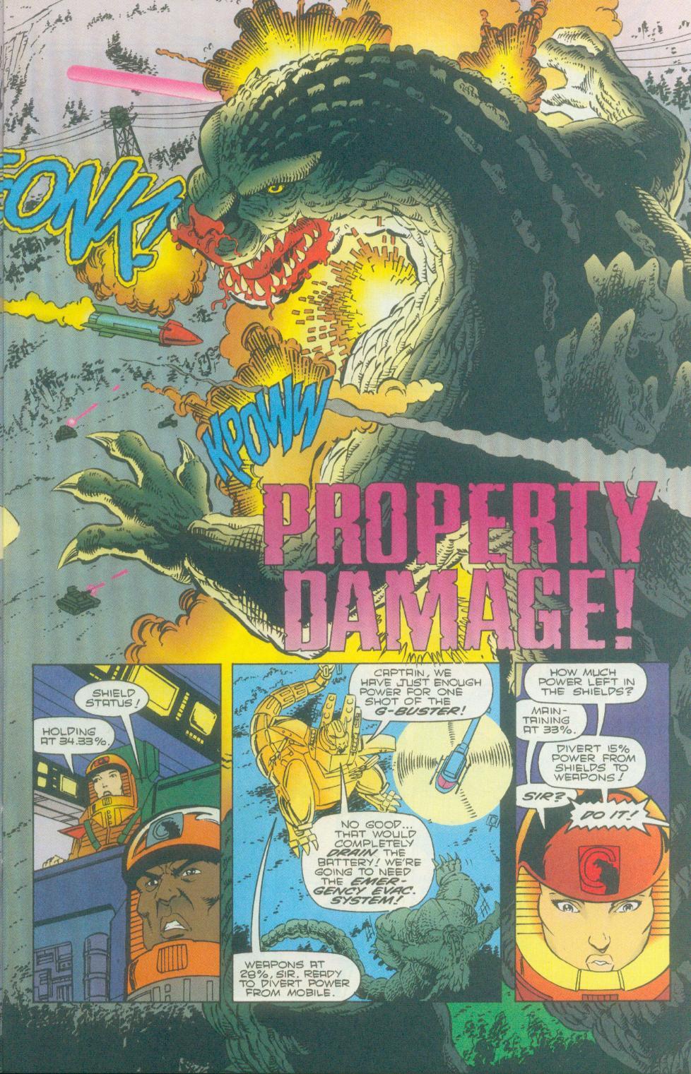 Godzilla (1995) Issue #2 #3 - English 6