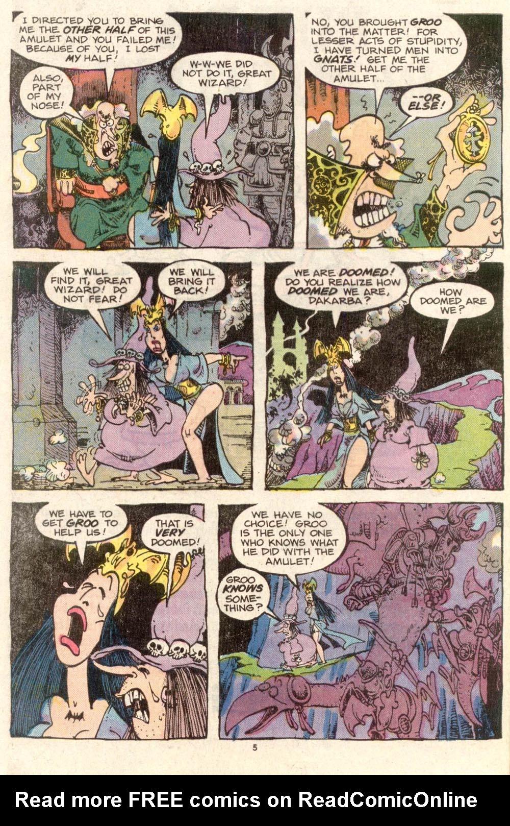 Read online Sergio Aragonés Groo the Wanderer comic -  Issue #34 - 5