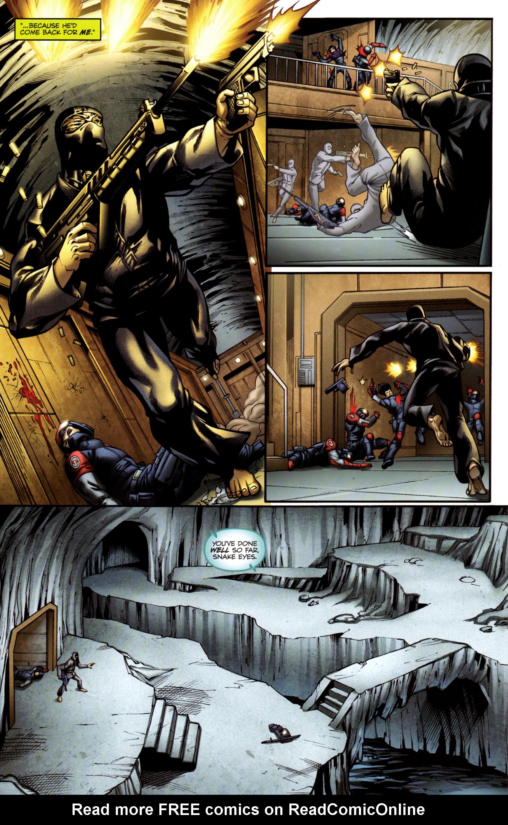 Read online G.I. Joe: Snake Eyes comic -  Issue #3 - 19