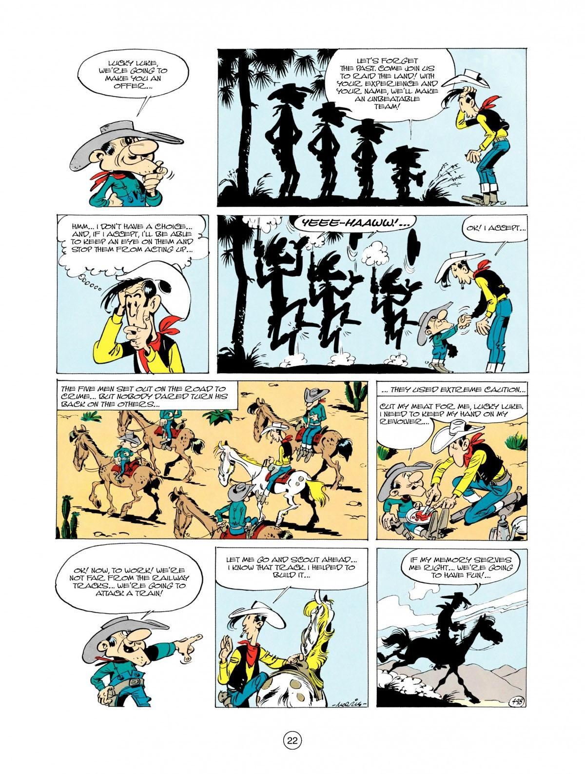Read online A Lucky Luke Adventure comic -  Issue #28 - 23