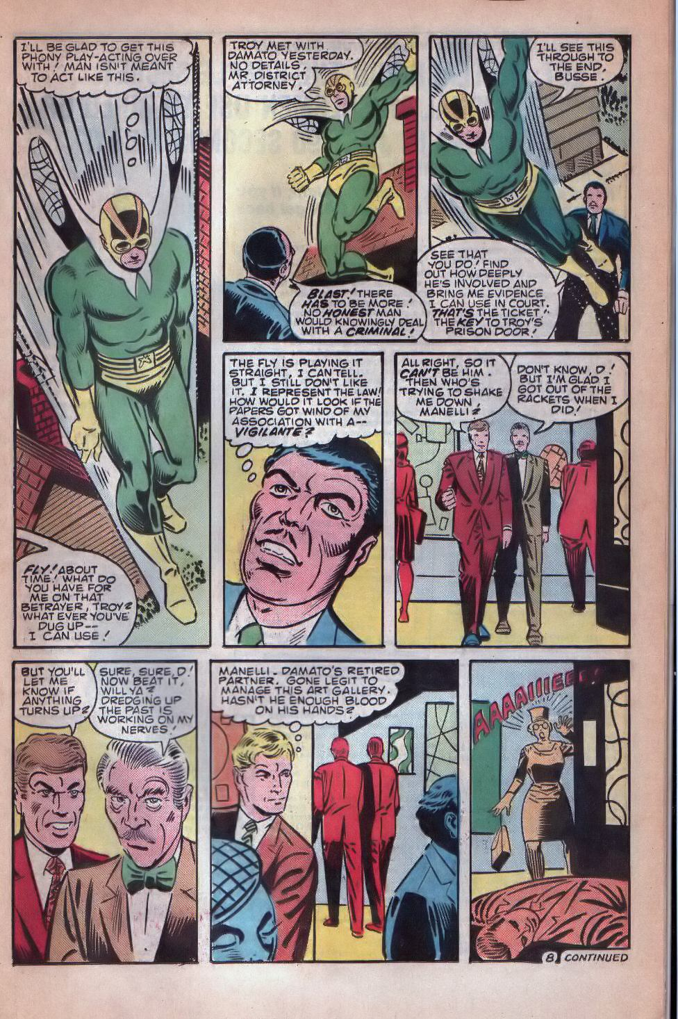 Read online The Fly (1983) comic -  Issue #8 - 9