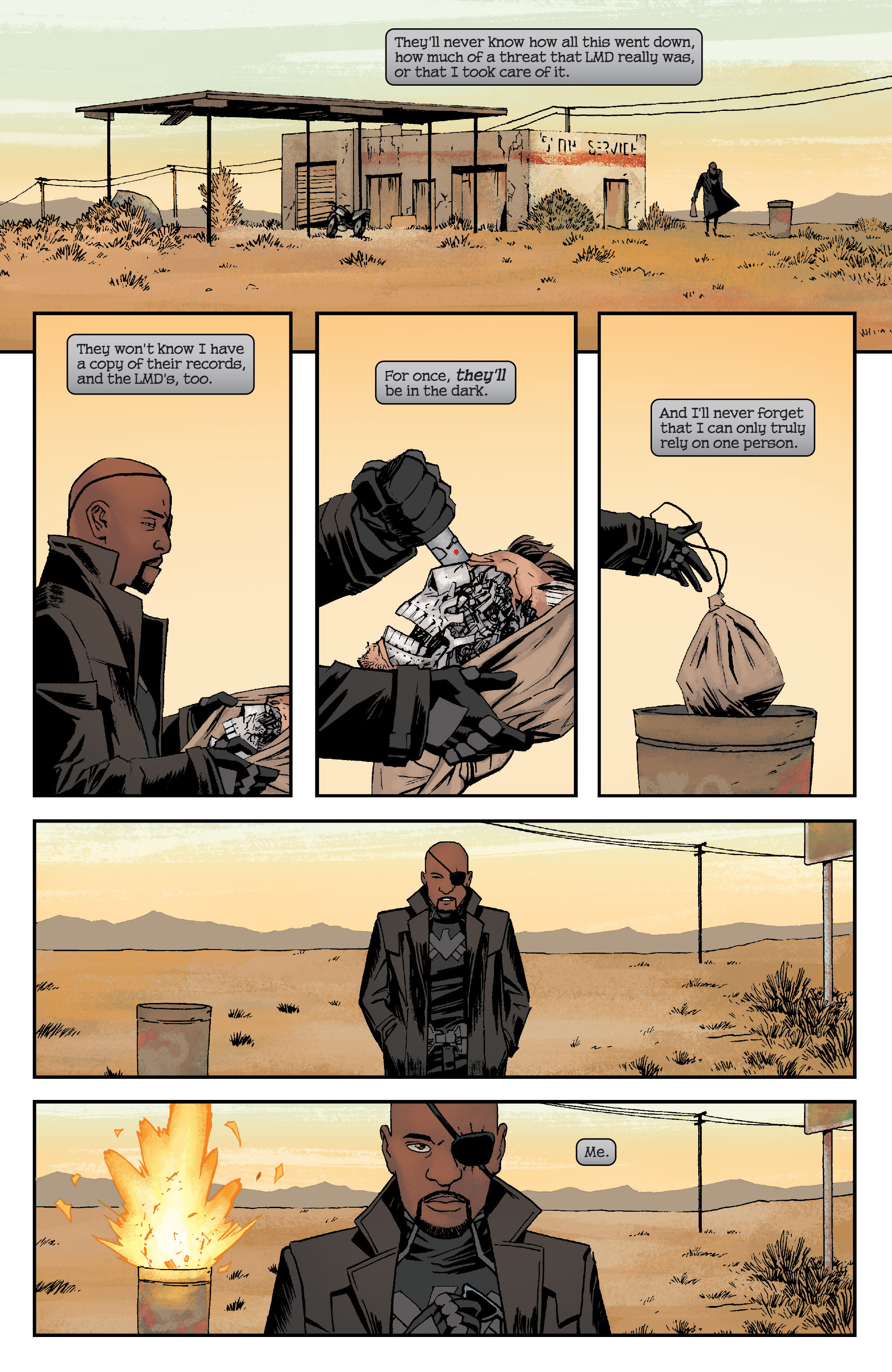 Read online Civil War II: Choosing Sides comic -  Issue #6 - 22