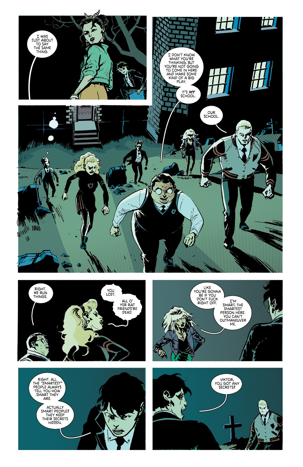 Read online Deadly Class comic -  Issue #38 - 22