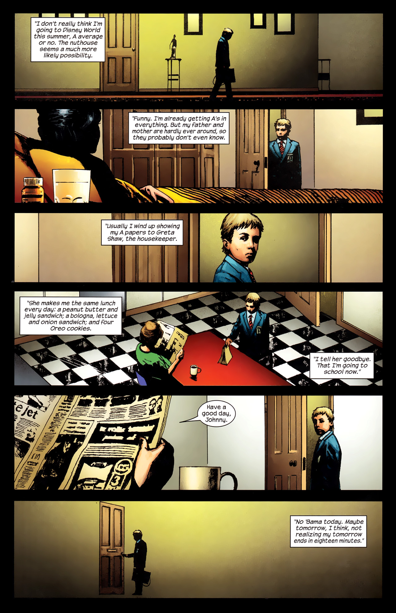 Read online Dark Tower: The Gunslinger - The Way Station comic -  Issue #2 - 15