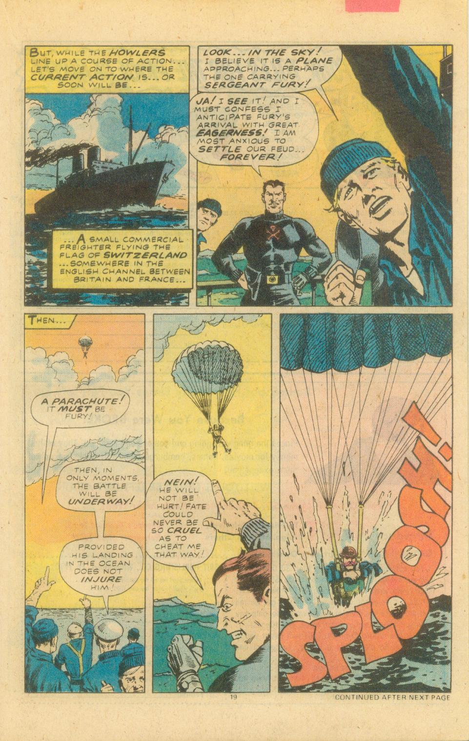 Read online Sgt. Fury comic -  Issue #155 - 21