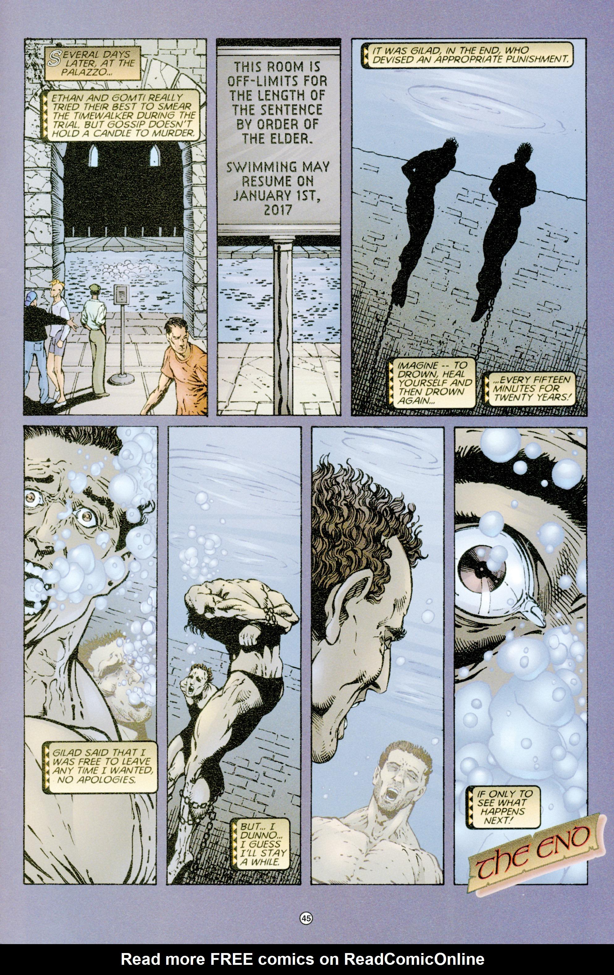 Read online Eternal Warriors comic -  Issue # Issue Time & Treachery - 44