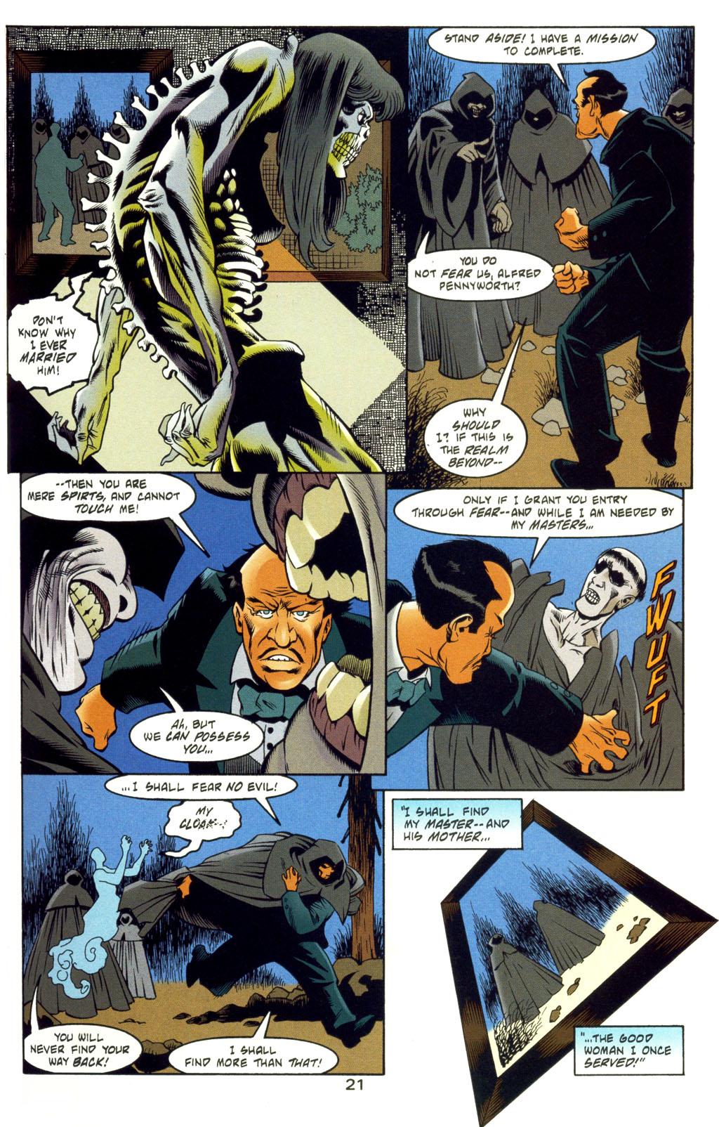 Read online Batman: Haunted Gotham comic -  Issue #4 - 21