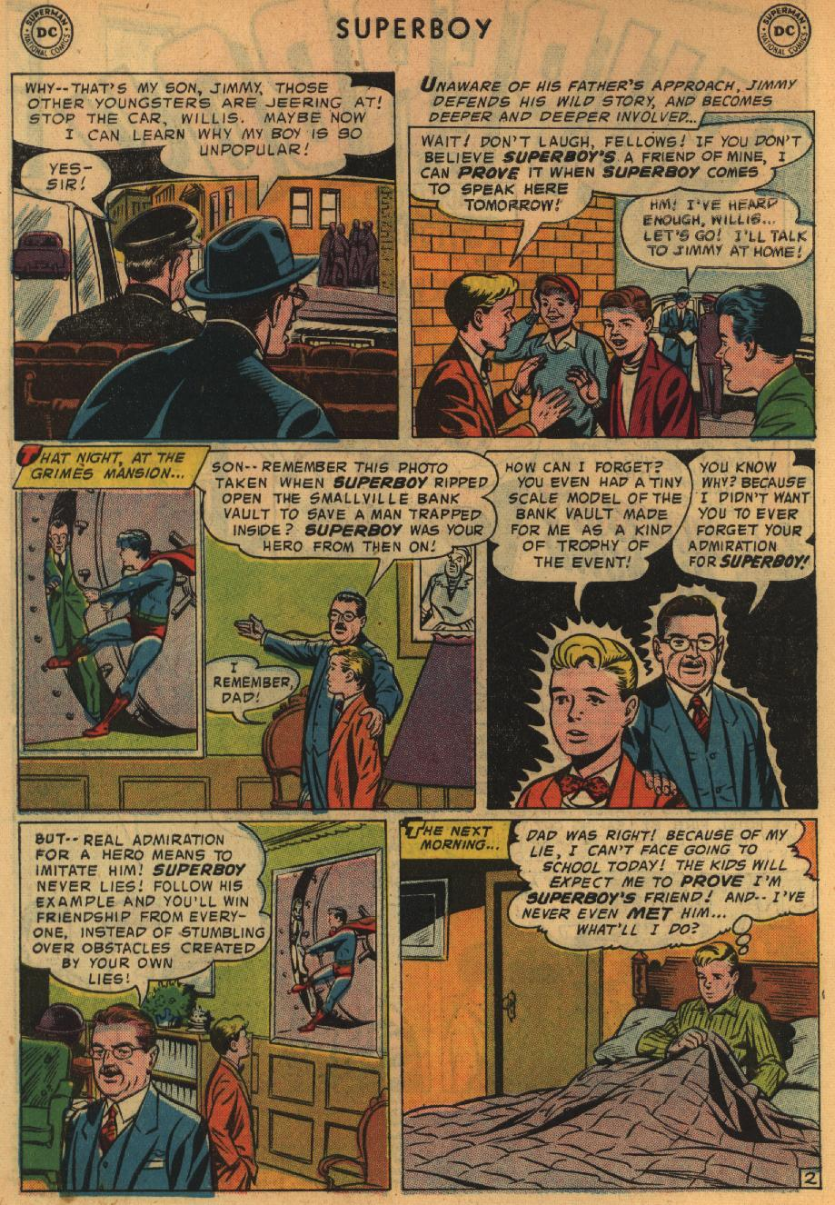 Superboy (1949) issue 64 - Page 3