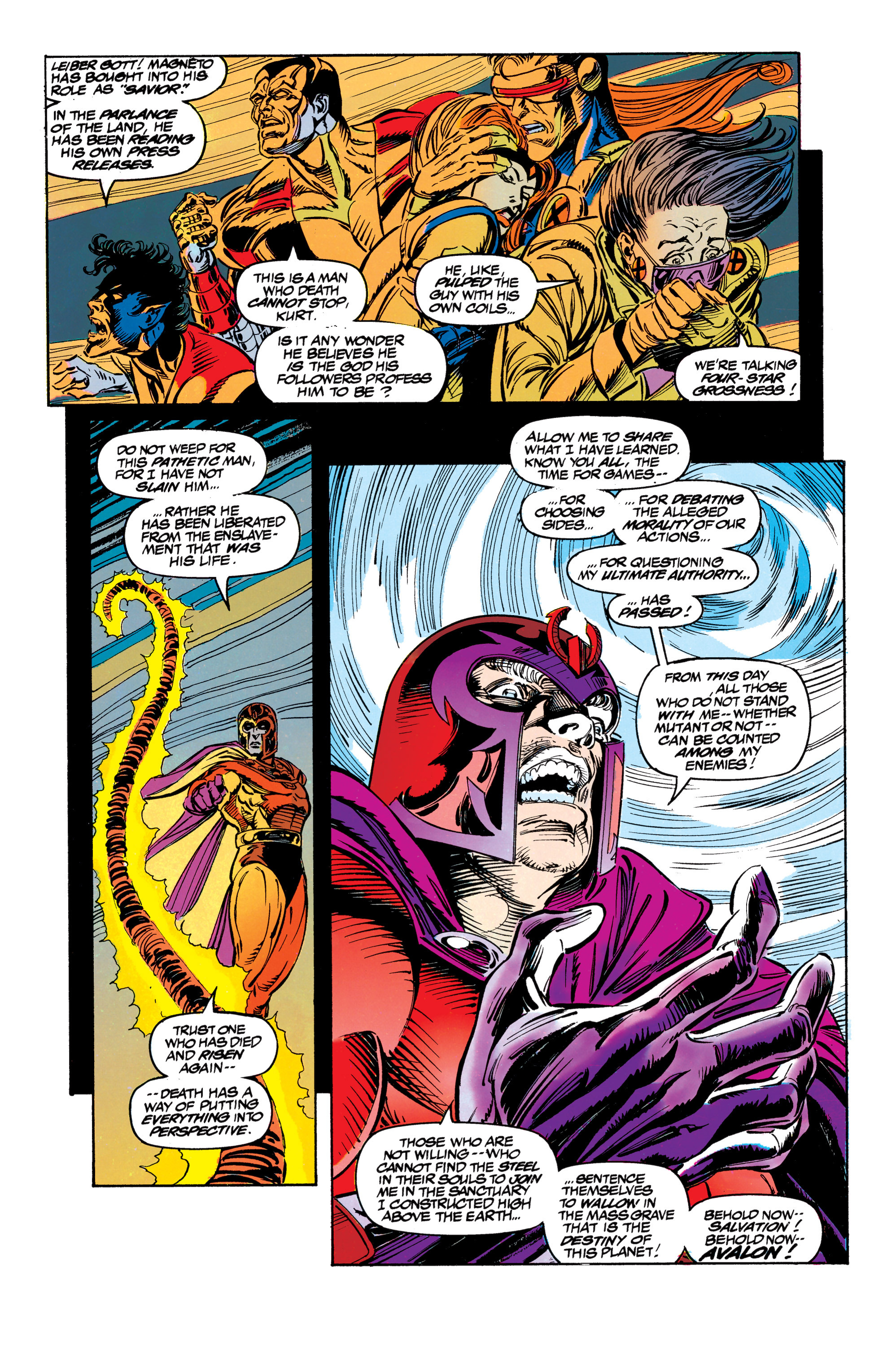 Read online Uncanny X-Men (1963) comic -  Issue #304 - 31